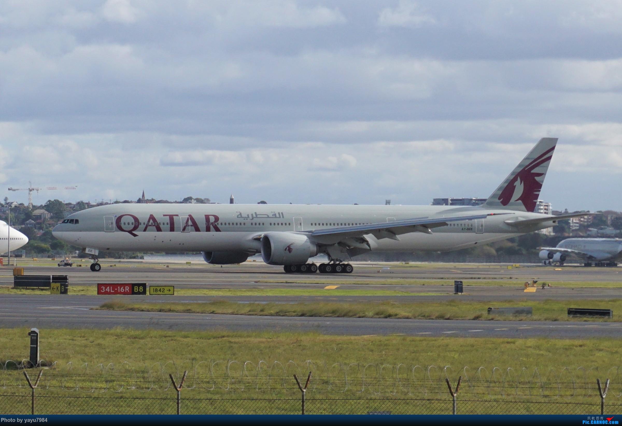 Re:[SYD] 近期随摄,收获颇多 BOEING 777-300ER A7-BEE 澳大利亚悉尼金斯福德·史密斯机场