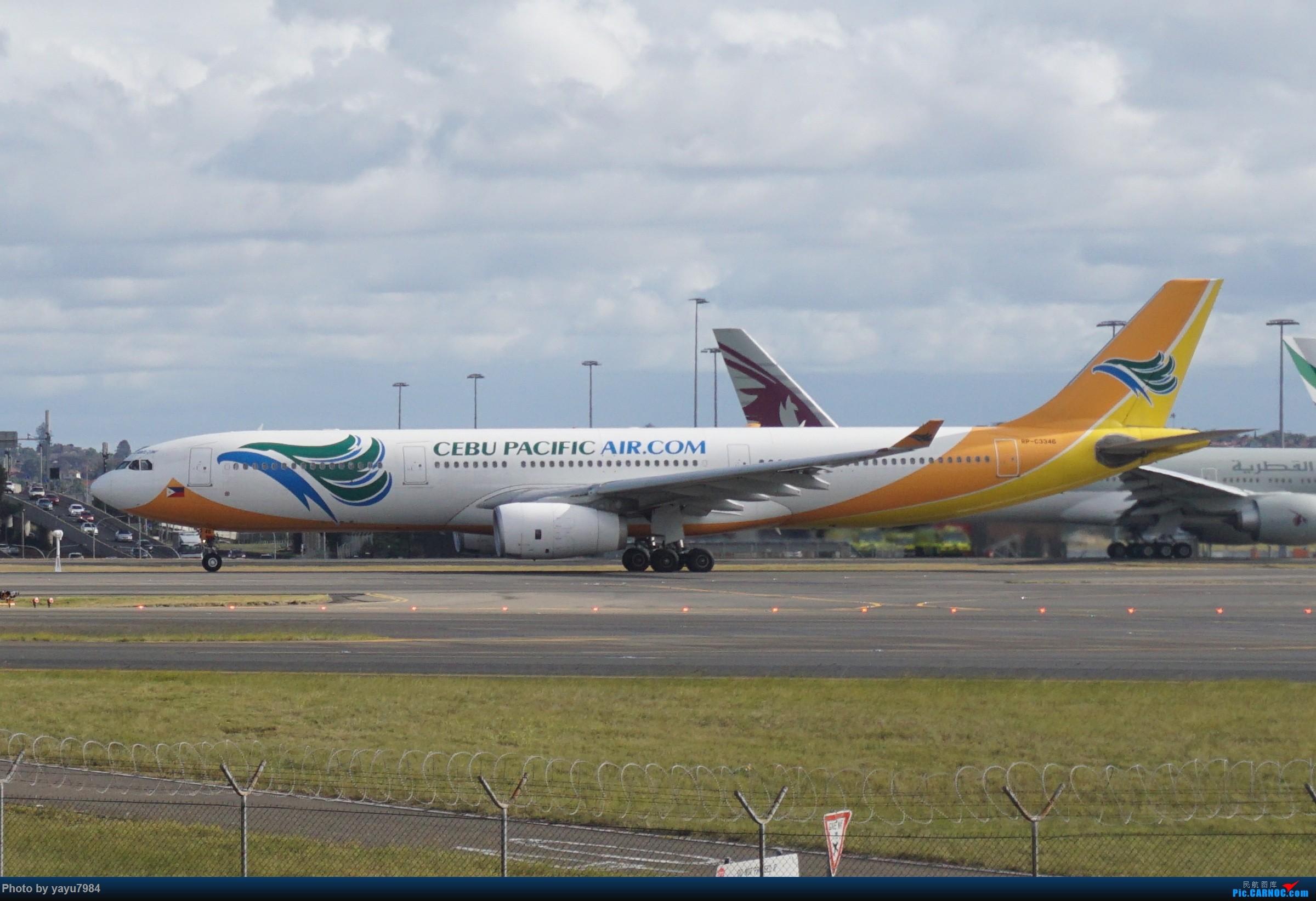 Re:[SYD] 近期随摄,收获颇多 AIRBUS A330-300 RP-C3346 澳大利亚悉尼金斯福德·史密斯机场