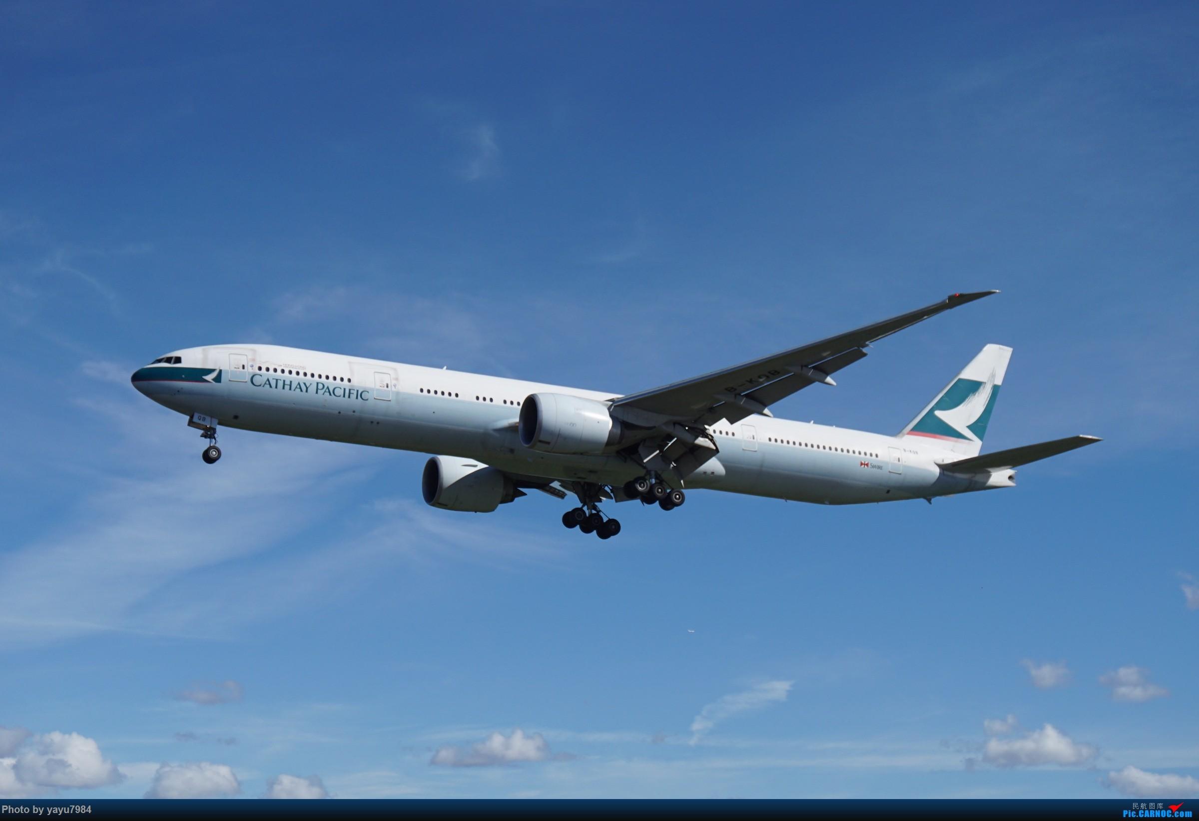 Re:[SYD] 近期随摄,收获颇多 BOEING 777-300ER B-KQB 澳大利亚悉尼金斯福德·史密斯机场