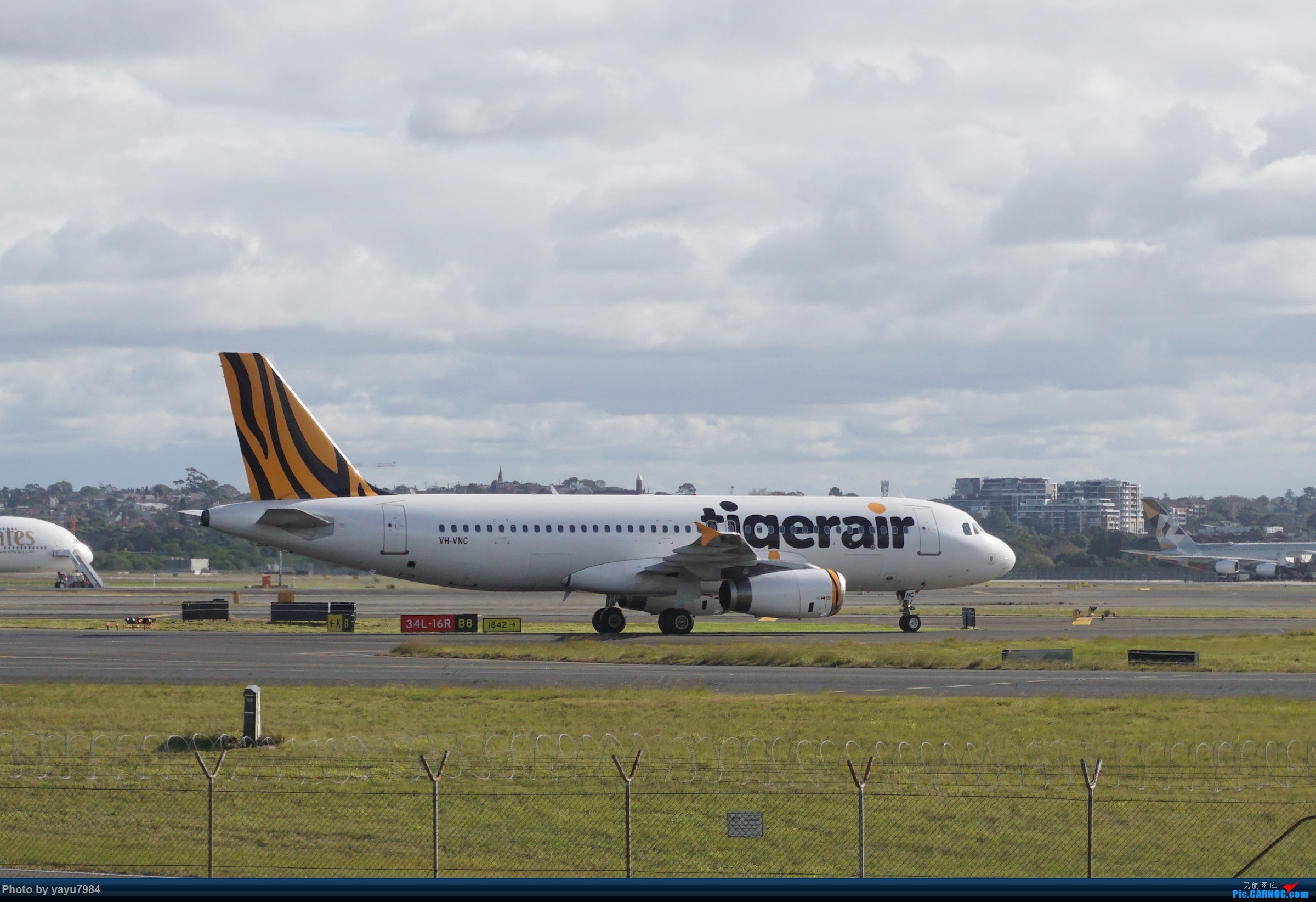 Re:[SYD] 近期随摄,收获颇多 AIRBUS A320-200 VH-VNC 澳大利亚悉尼金斯福德·史密斯机场