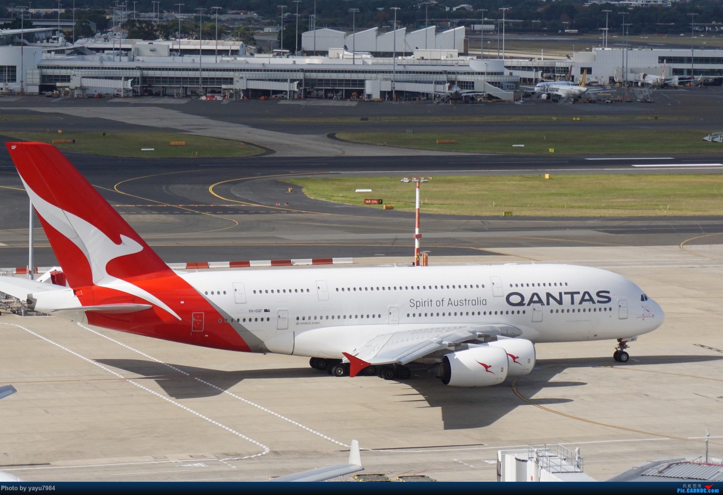 Re:[SYD] 近期随摄,收获颇多 AIRBUS A380-800 VH-OQF 澳大利亚悉尼金斯福德·史密斯机场