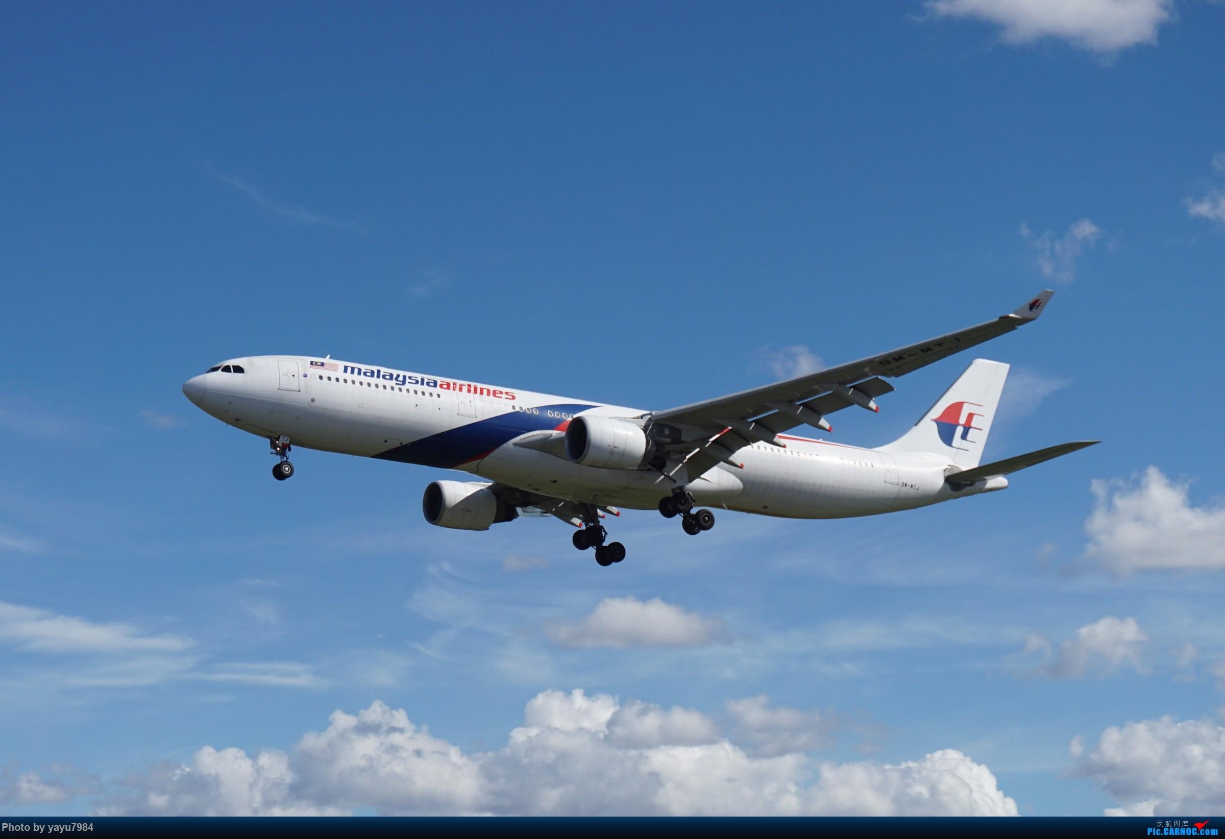 Re:[SYD] 近期随摄,收获颇多 AIRBUS A330-300 9M-MTJ 澳大利亚悉尼金斯福德·史密斯机场