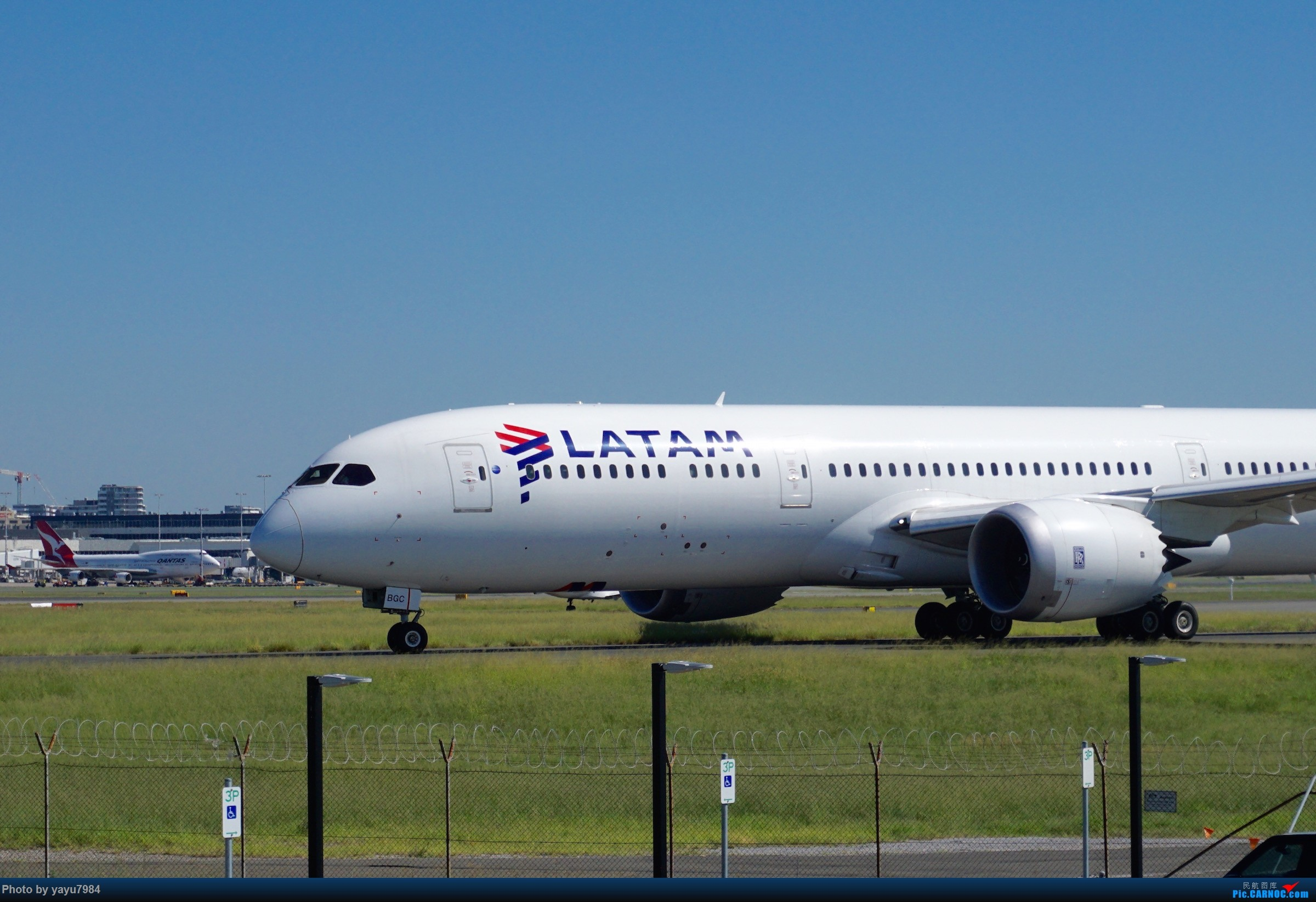 Re:[原创][SYD] 近期随摄,收获颇多 BOEING 787-9 CC-BGC 澳大利亚悉尼金斯福德·史密斯机场
