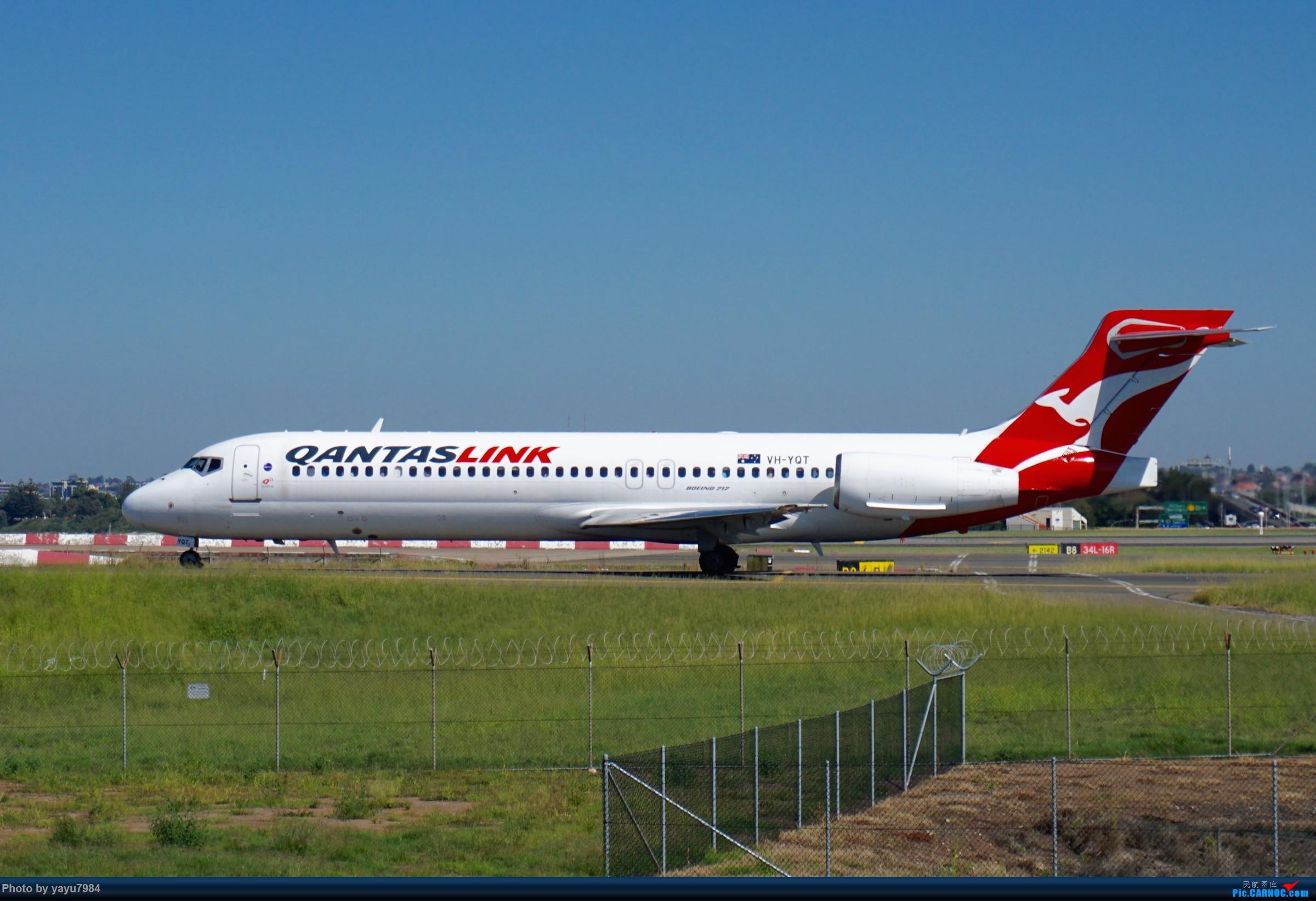 Re:[SYD] 近期随摄,收获颇多 BOEING 717-200 VH-YQT 澳大利亚悉尼金斯福德·史密斯机场