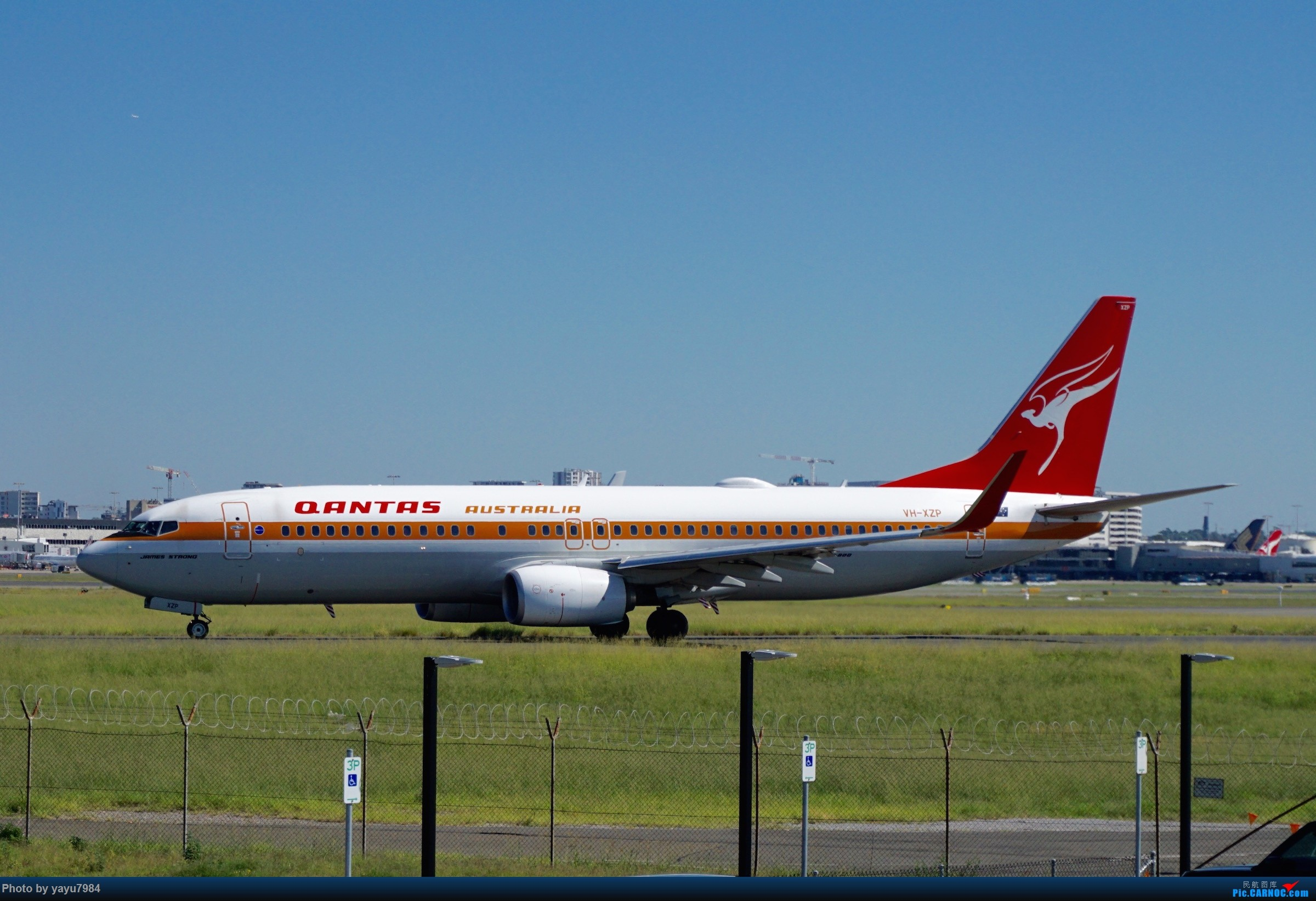 Re:[SYD] 近期随摄,收获颇多 BOEING 737-800 VH-XZP 澳大利亚悉尼金斯福德·史密斯机场