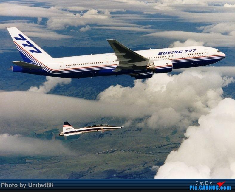 波音777首飛24周年纪念 BOEING 777-200 N7771