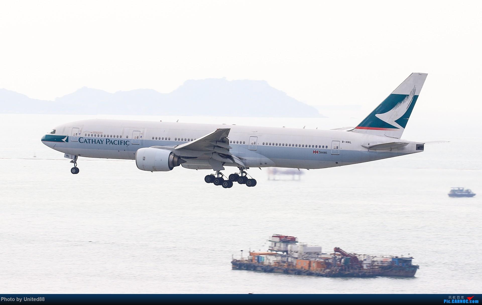 Re:[原创]波音777首飛24周年纪念 BOEING 777-200 B-HNL 中国香港国际机场