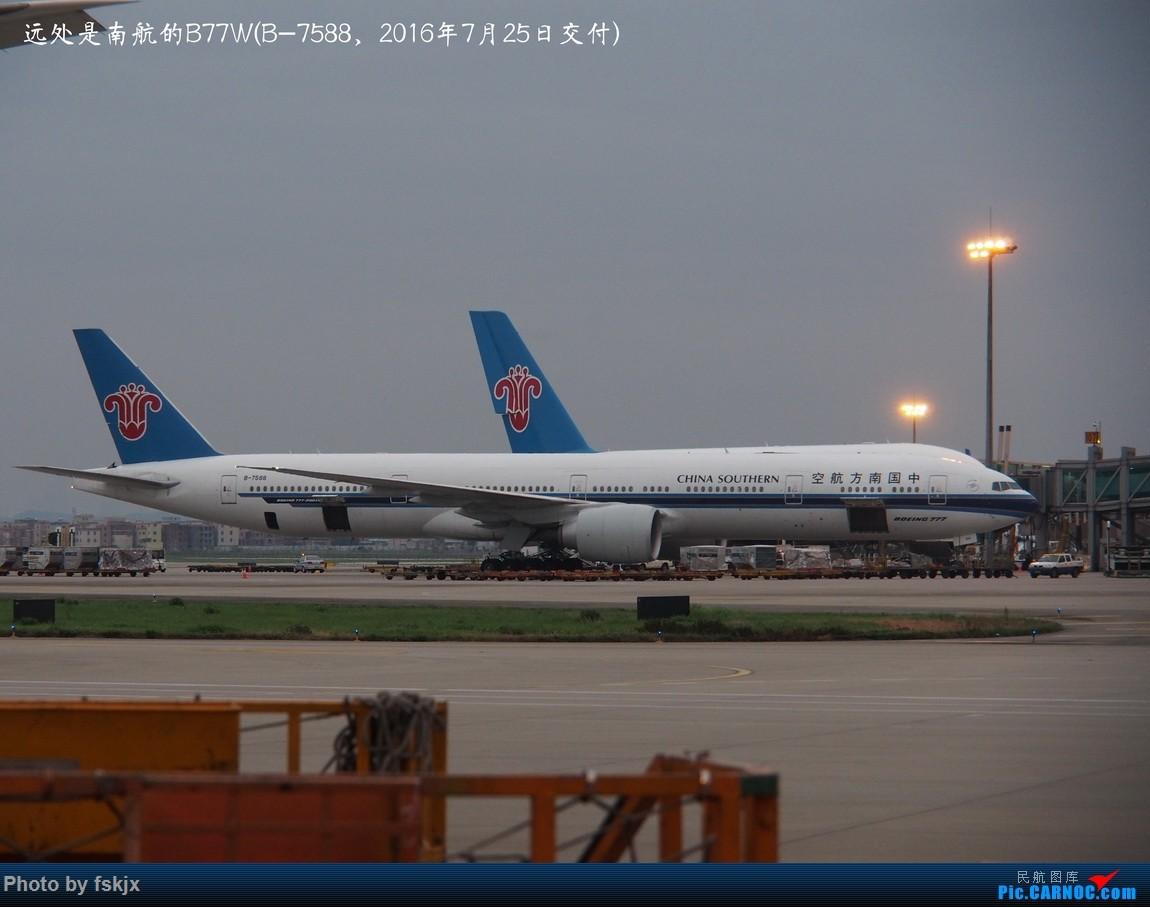 【fskjx的飞行游记☆61】追梦·F1上海站 BOEING 777-300ER B-7588 中国广州白云国际机场