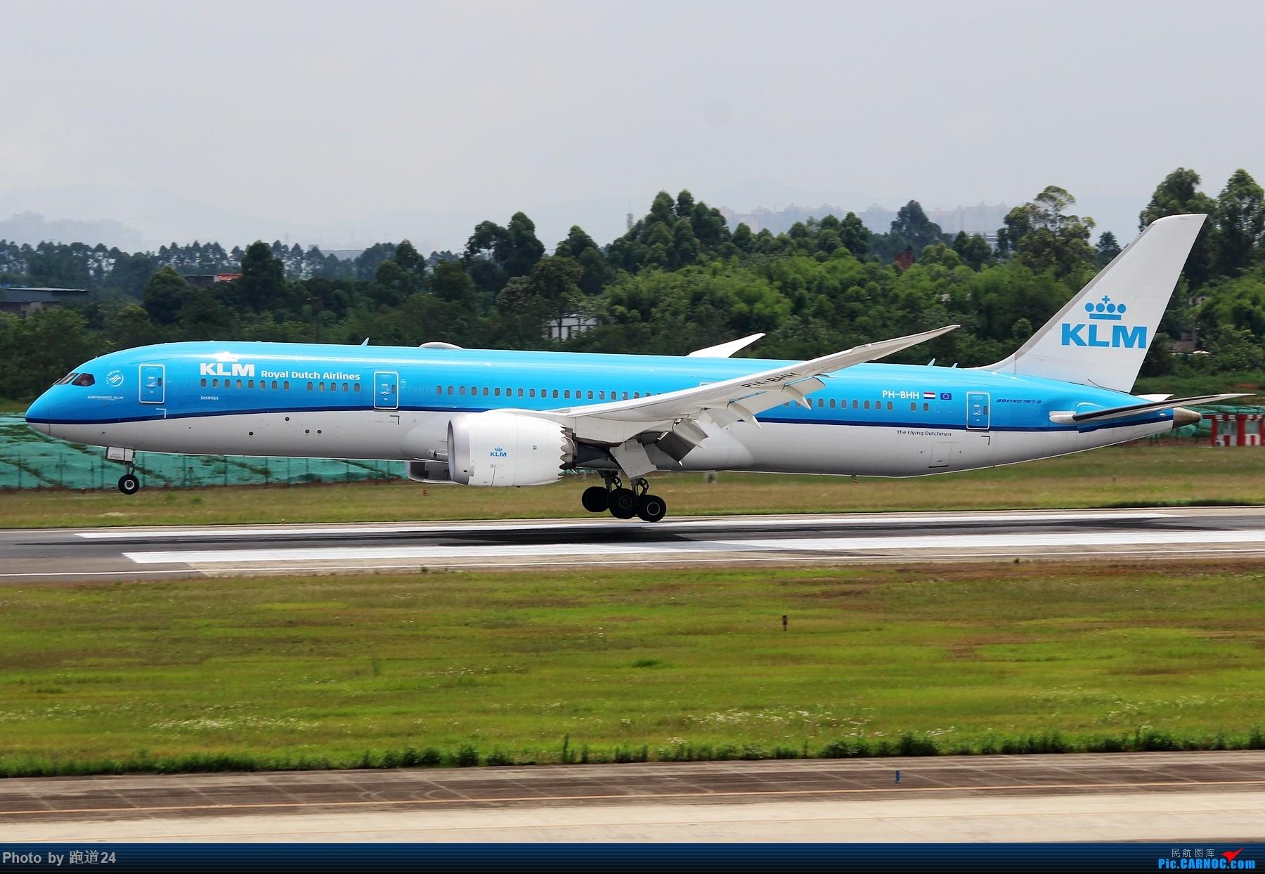 Re:[原创]【多图党】6月18日成都拍机【埃塞俄比亚航空B777-200LR】 BOEING 787-9 PH-BHH 中国成都双流国际机场