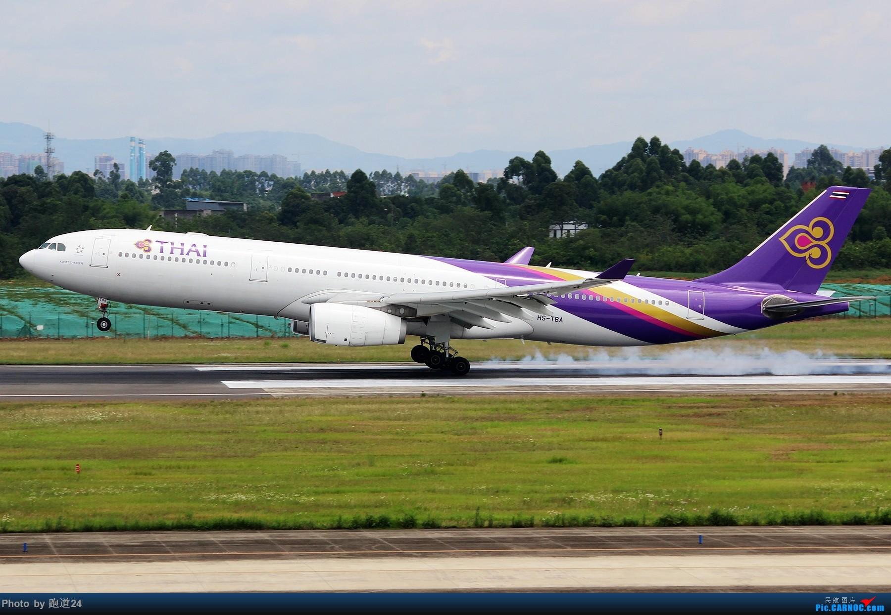 Re:[原创]【多图党】6月18日成都拍机【埃塞俄比亚航空B777-200LR】 AIRBUS A330-300 HS-TBA 中国成都双流国际机场