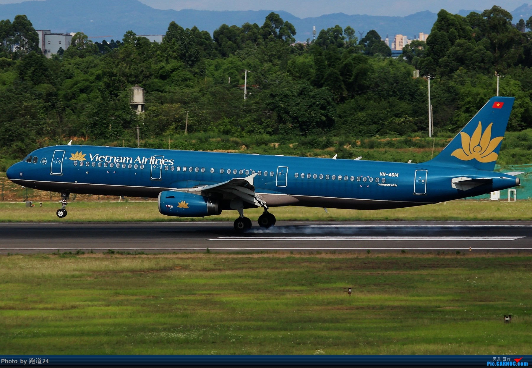 Re:[原创]【多图党】6月18日成都拍机【埃塞俄比亚航空B777-200LR】 AIRBUS A321-200 VN-A614 中国成都双流国际机场