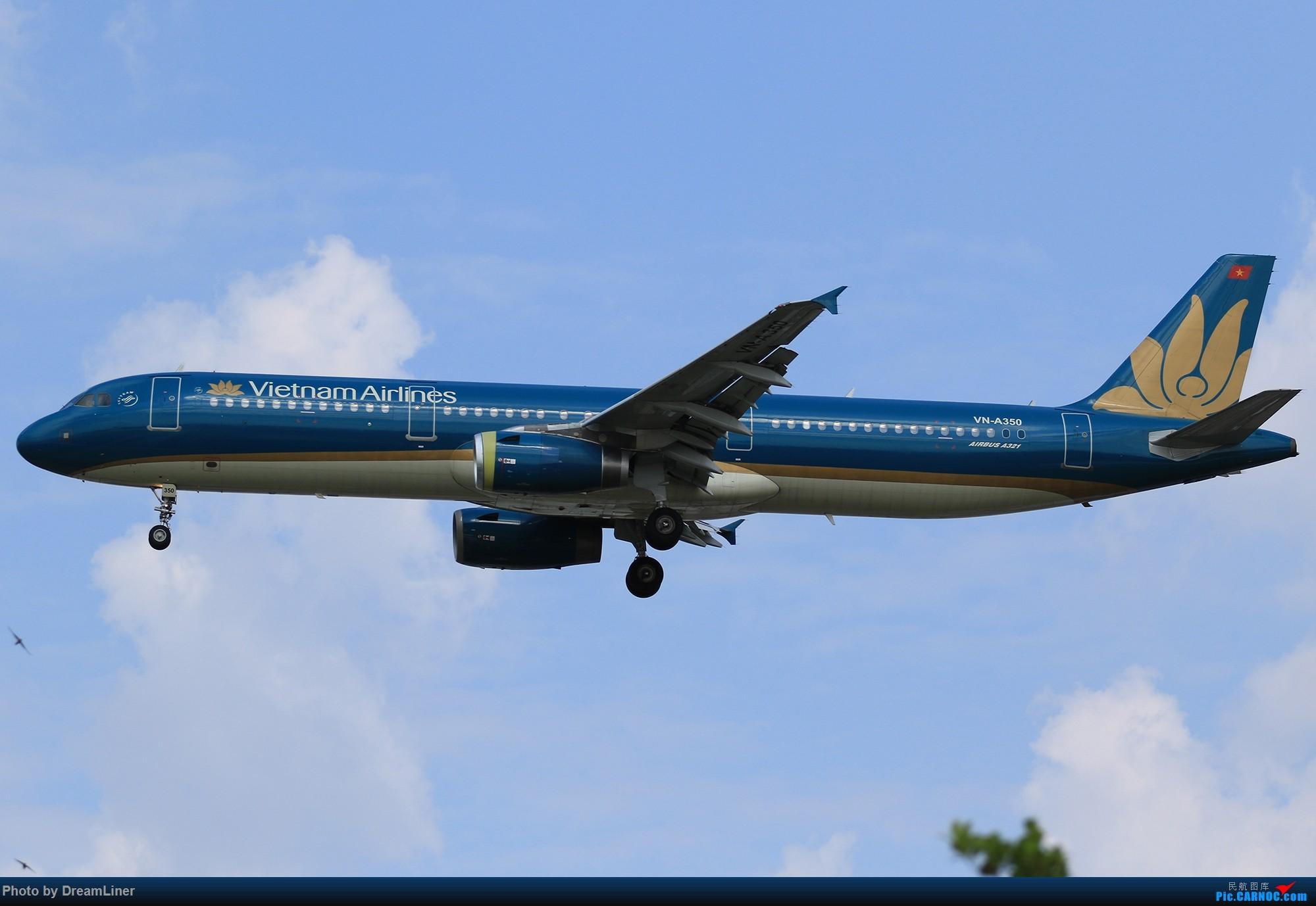 Re:[原创]【CAN】蓝天——乌云 AIRBUS A321-200 VN-A350 中国广州白云国际机场