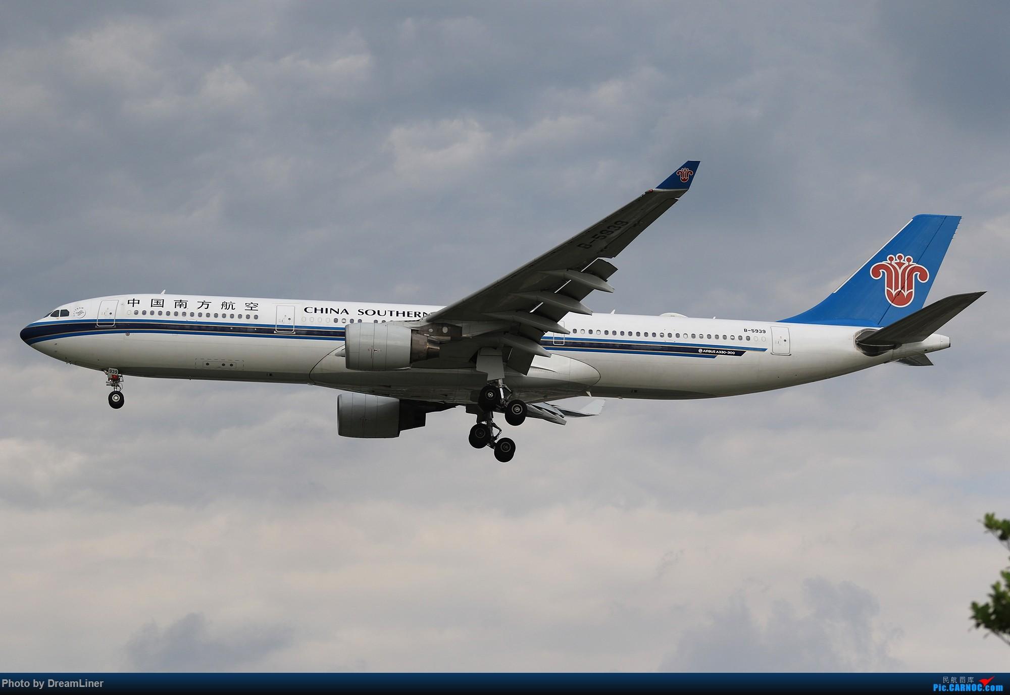 Re:[原创]【CAN】蓝天——乌云 AIRBUS A330-300 B-5939 中国广州白云国际机场