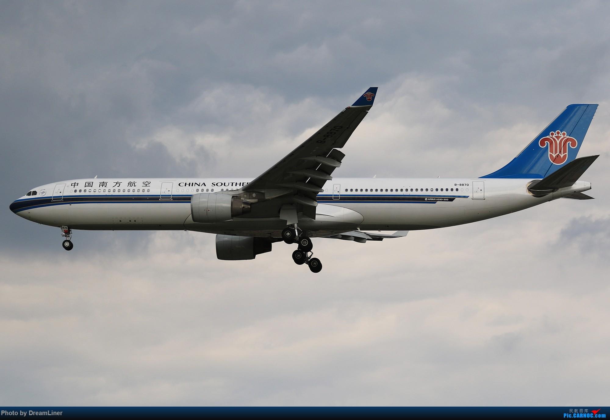 Re:[原创]【CAN】蓝天——乌云 AIRBUS A330-300 B-8870 中国广州白云国际机场