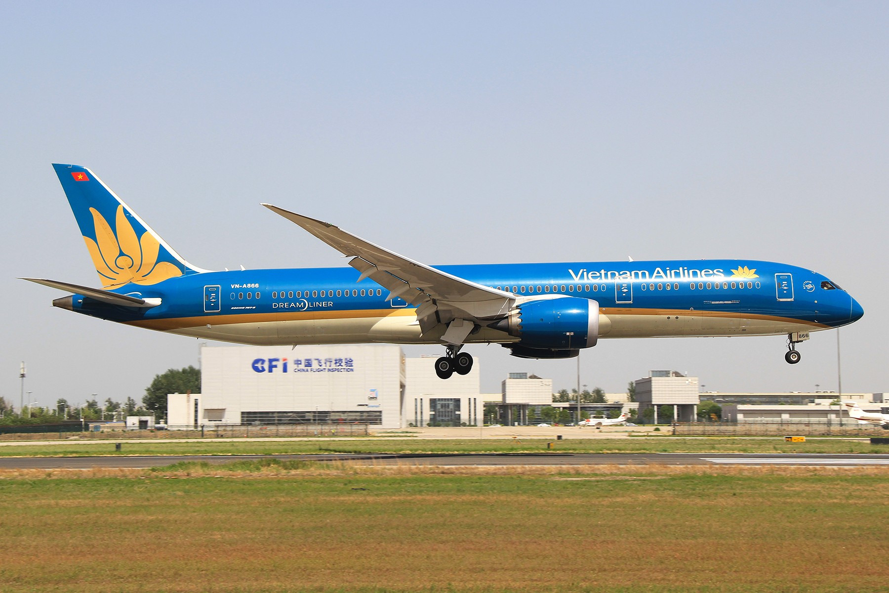 Re:[原创]【PEK】B787-9降落一组 BOEING 787-9 VN-A866 中国北京首都国际机场