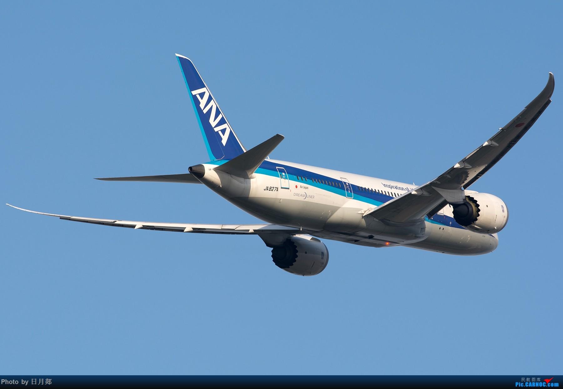 Re:[原创]【PVG】来一组起飞,都是宽体君 BOEING 787-8 JA827A 中国上海浦东国际机场