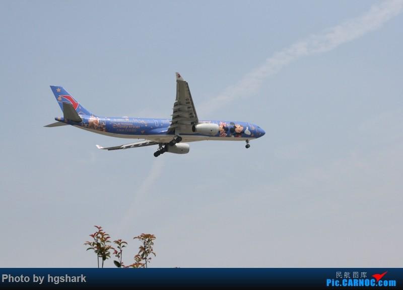 SHA拍机 AIRBUS A330-300 B-6507 中国上海虹桥国际机场