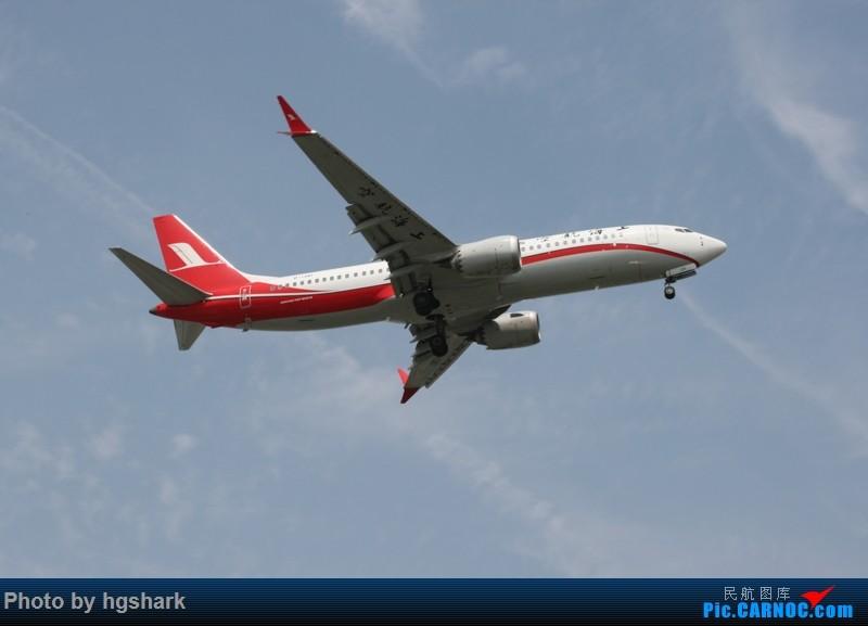 Re:[原创]SHA拍机 BOEING 737MAX-8 B-1381 中国上海虹桥国际机场