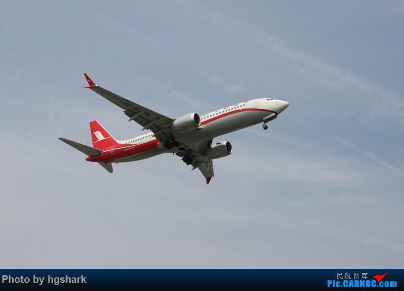 Re:[原创]SHA拍机 BOEING 737MAX-8 B-1382 中国上海虹桥国际机场