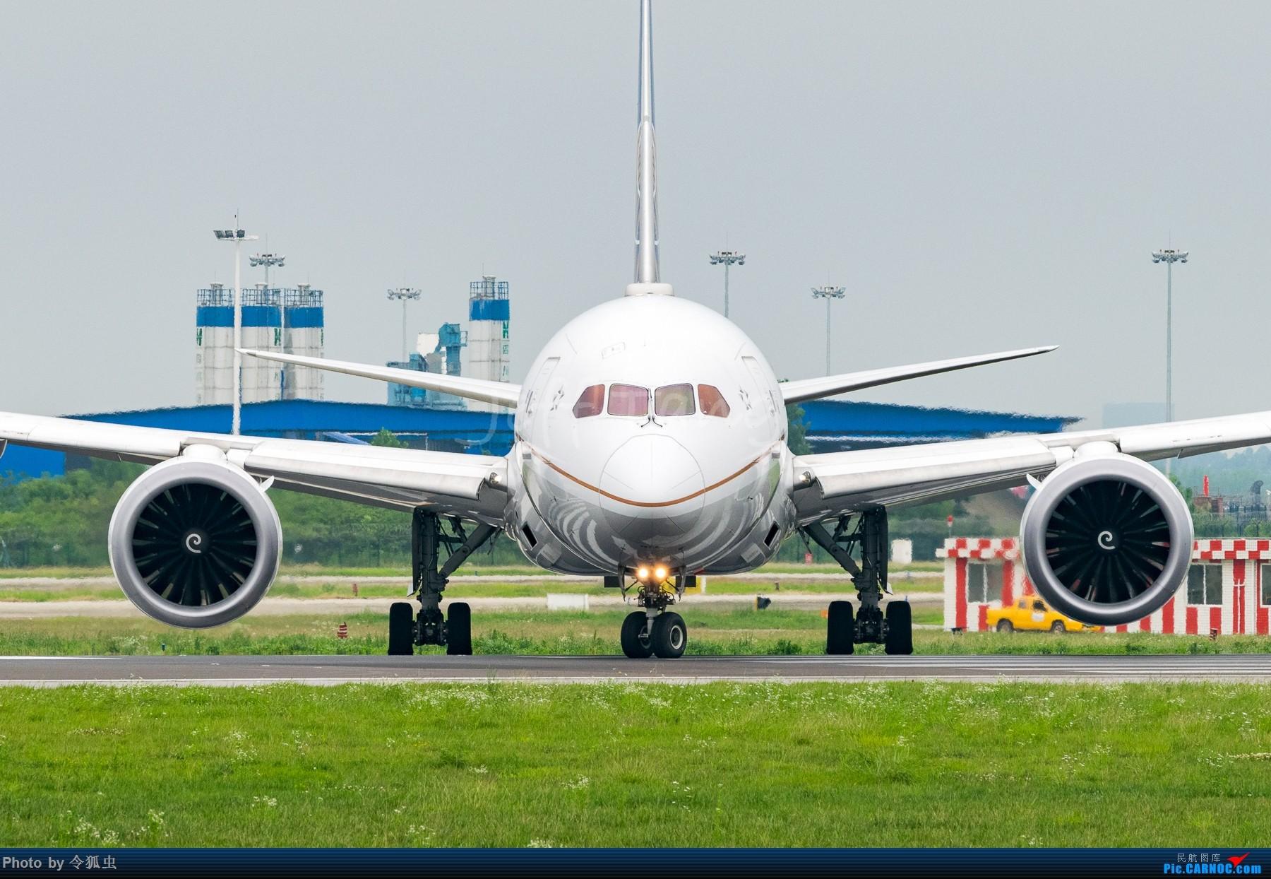 [原创]【CTU】UA航N26906_B788大头照 BOEING 787-8 N26906 中国成都双流国际机场