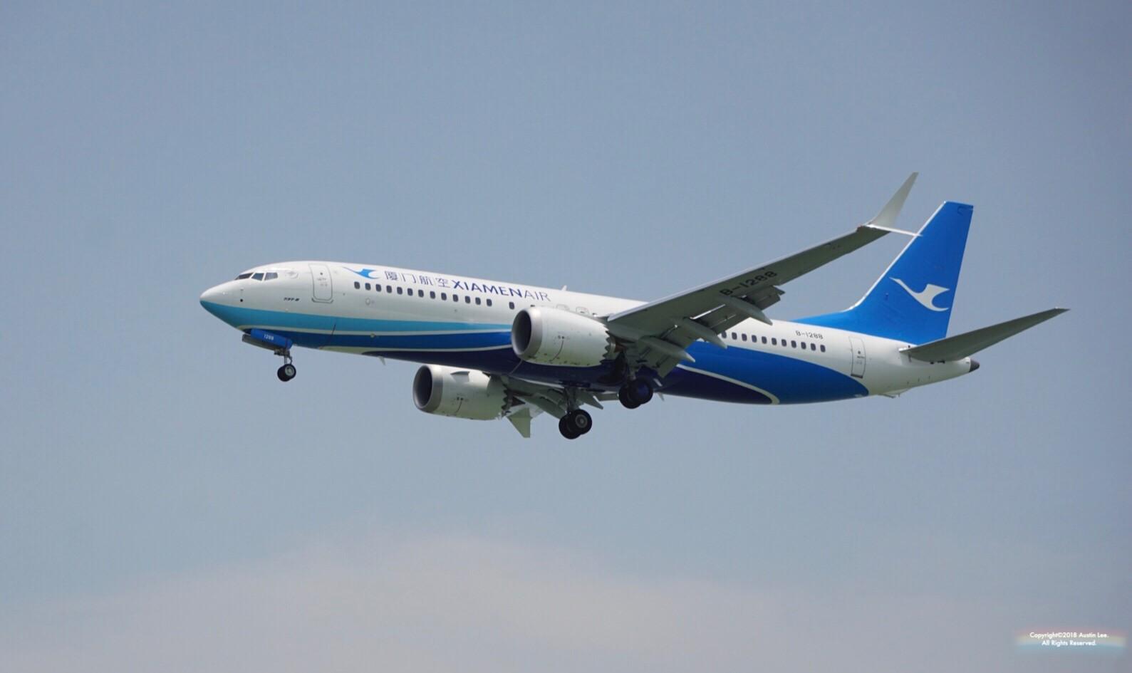 Re:[原创]【XMN】【多图】来接max~首次在厦门和死党们拍机~May.26th记 BOEING 737MAX-8 B-1288 中国厦门高崎国际机场