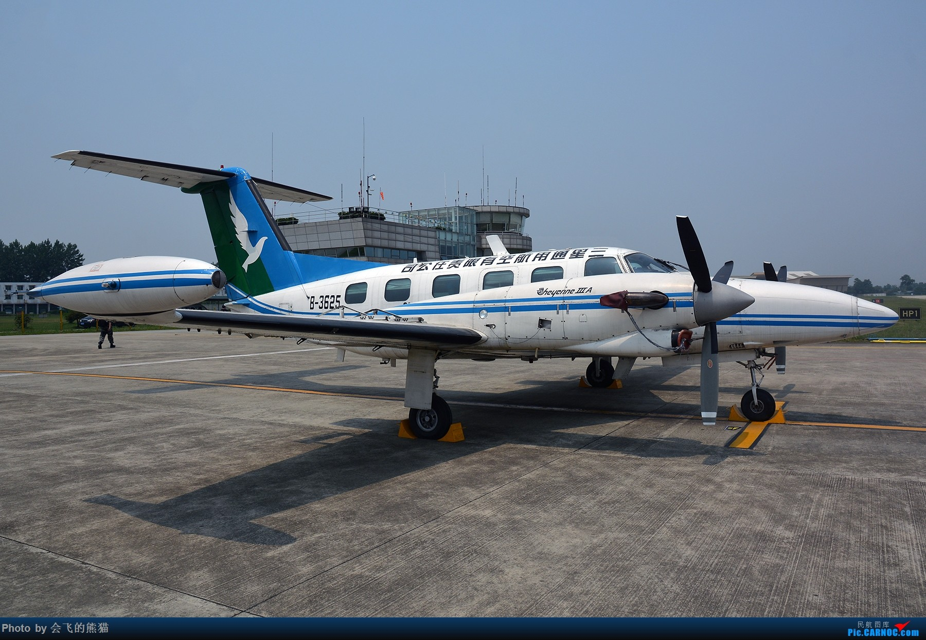 Re:[原创]不挑 PIPER PA-42-720 B-3625 广汉机场