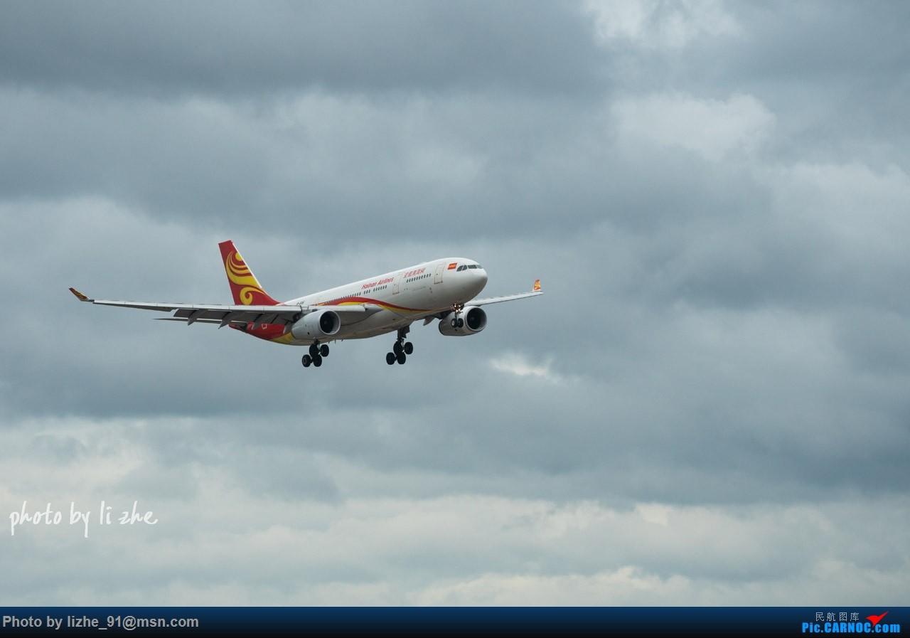 [原创](KWE)贵阳机场两重天拍机 AIRBUS A330-200 B-6116 中国贵阳龙洞堡国际机场