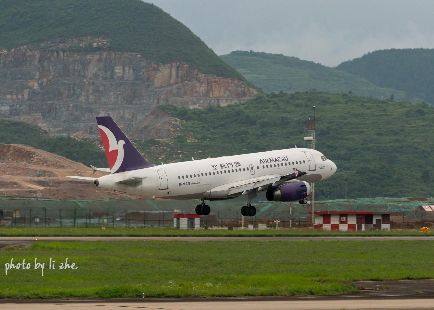 Re:[原创](KWE)贵阳机场两重天拍机 AIRBUS A319-100 B-MAN 中国贵阳龙洞堡国际机场