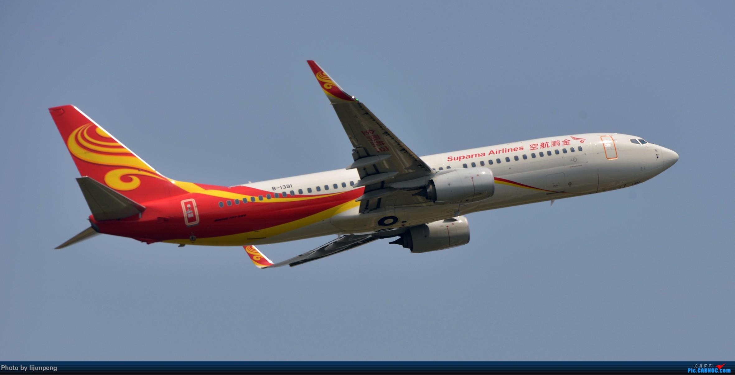 Re:[原创]新老金扬 BOEING 737-800 B-1391 中国襄阳刘集机场