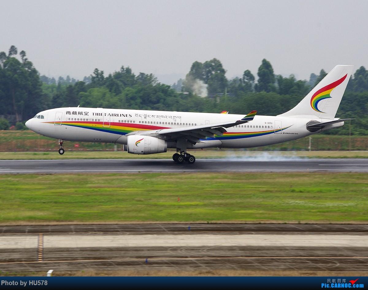 Re:[原创]成都的网红地,成卢兹的观景台,现已暂时封闭,阴雨天手机图渣慎入,随便加几张拉烟吹水 AIRBUS A330-200 B-8951 中国成都双流国际机场