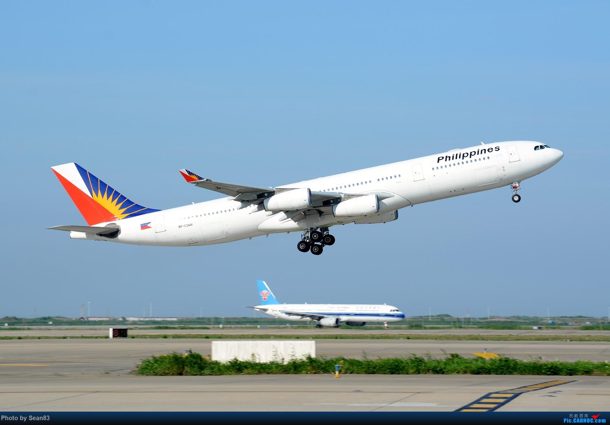 [原创](PVG)一飞冲天343 AIRBUS A340-300 RP-C3431 中国上海浦东国际机场