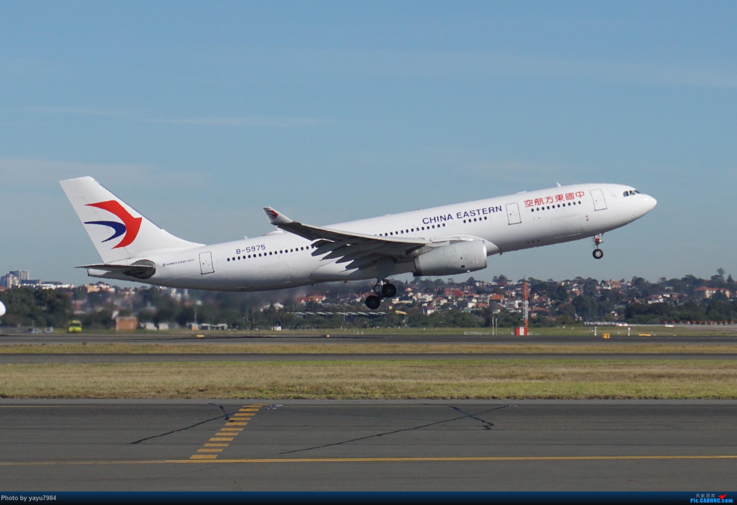 Re:[原创][SYD] 晨悉尼,Blu Emu停车场里拍34L起飞以及滑行 AIRBUS A330-200 B-5975 澳大利亚悉尼金斯福德·史密斯机场
