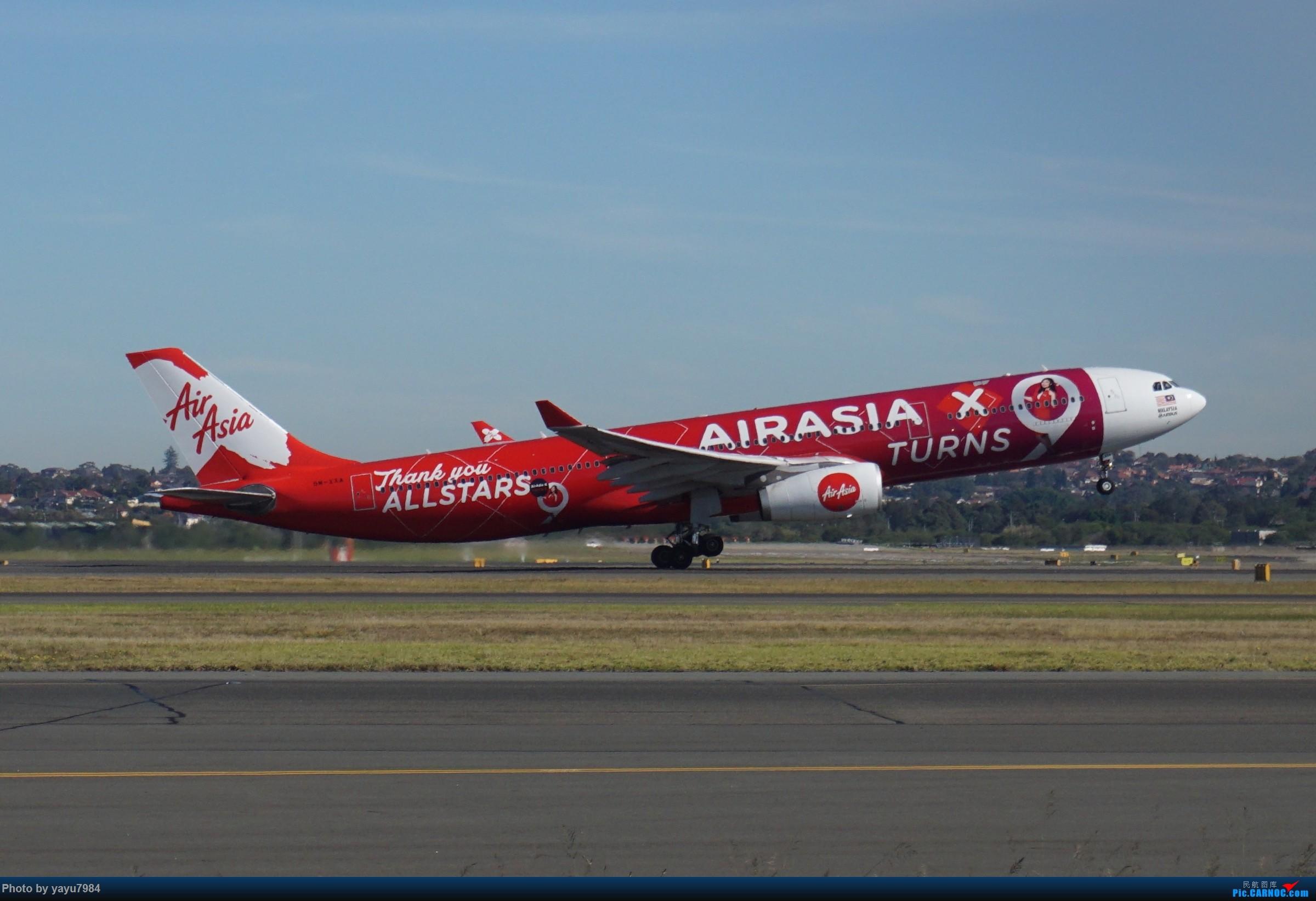 Re:[原创][SYD] 晨悉尼,Blu Emu停车场里拍34L起飞以及滑行 AIRBUS A330-300 9M-XXA 澳大利亚悉尼金斯福德·史密斯机场