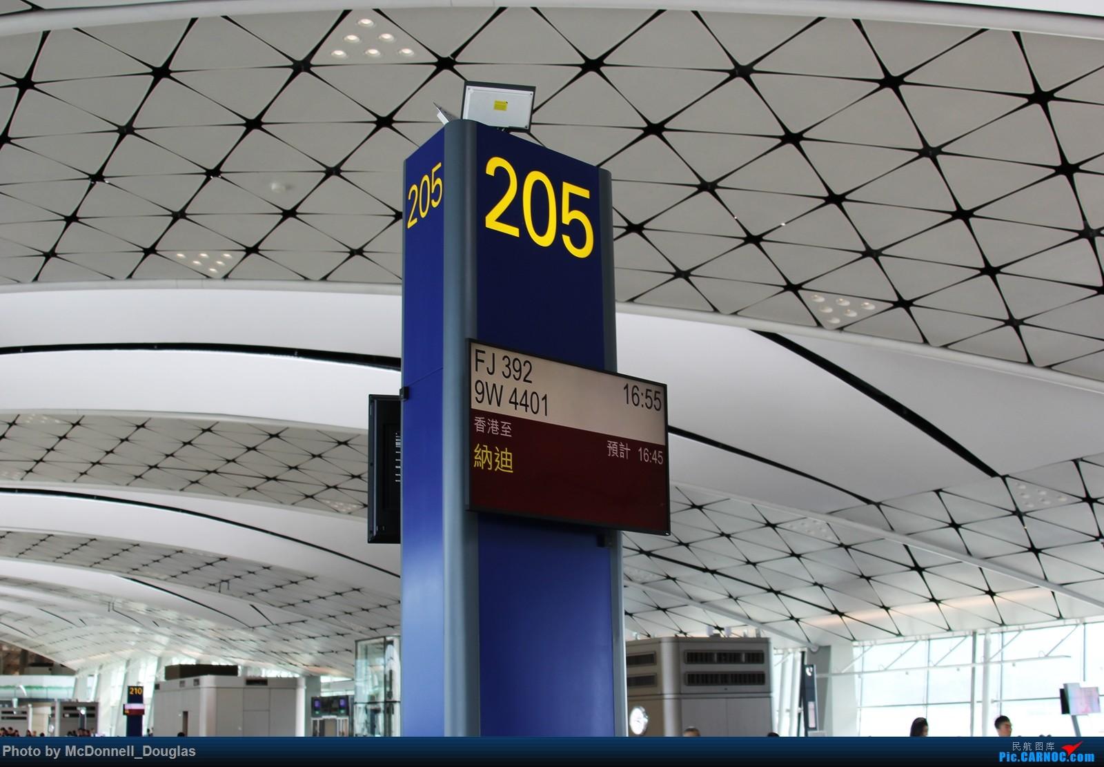 Re:[原创]【上海飞友会】【zc带你游天下(5)】起意只因一时冲动,飞过赤道去避暑,领略南太平洋别样的风光    中国香港国际机场
