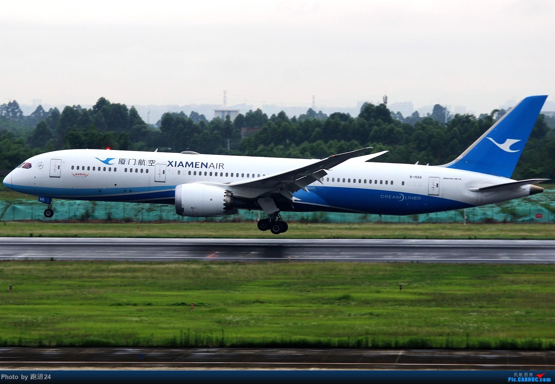 Re:[原创]【多图党】6.28CTU再浪一波 BOEING 787-9 B-1566 中国成都双流国际机场