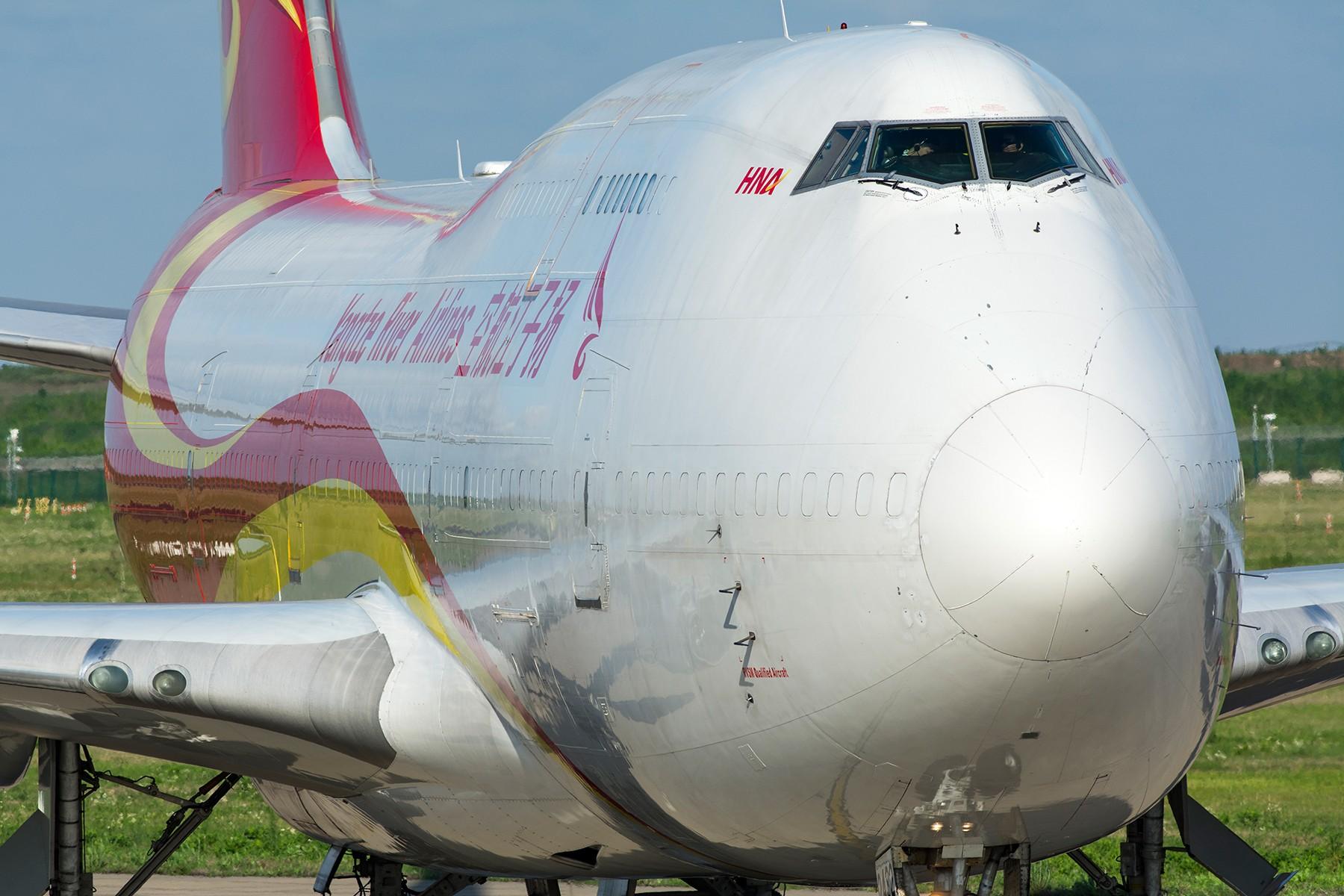 [原创]【PVG】大头大头下雨不愁 BOEING 747-481(BDSF) B-2432 中国上海浦东国际机场