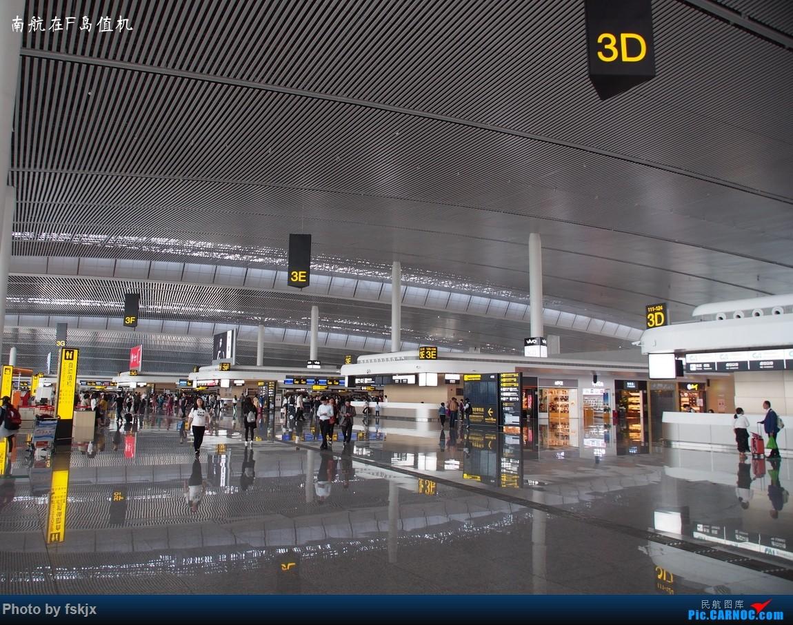 【fskjx的飞行游记☆62】从你的全世界路过——重庆&奥克兰    中国重庆江北国际机场