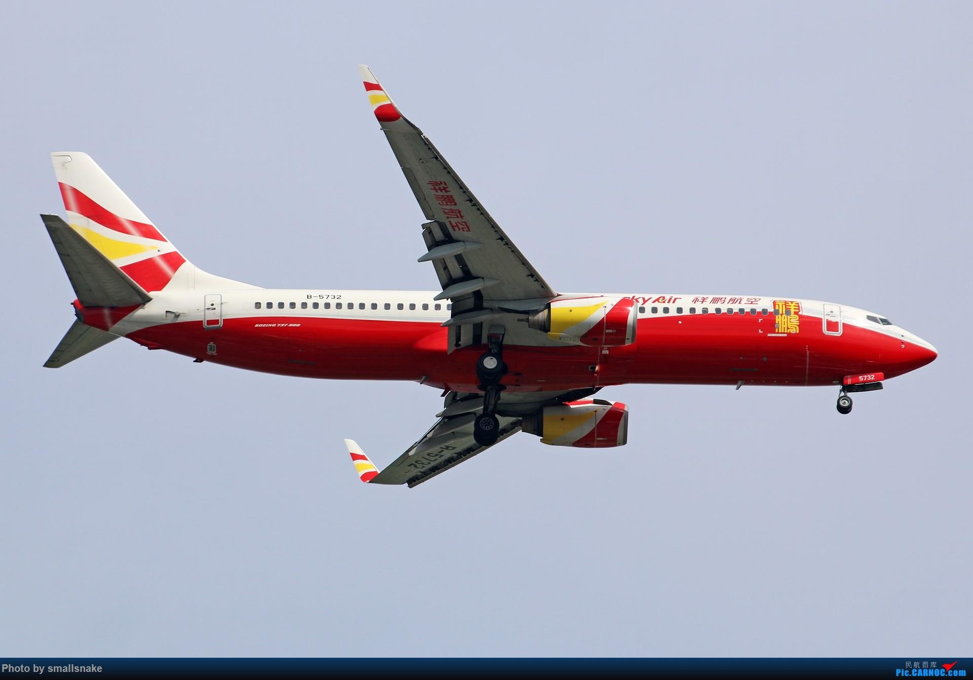 Re:[原创]近期NNG随摄...国航738MAX首航... BOEING 737-800 B-5732 中国南宁吴圩国际机场