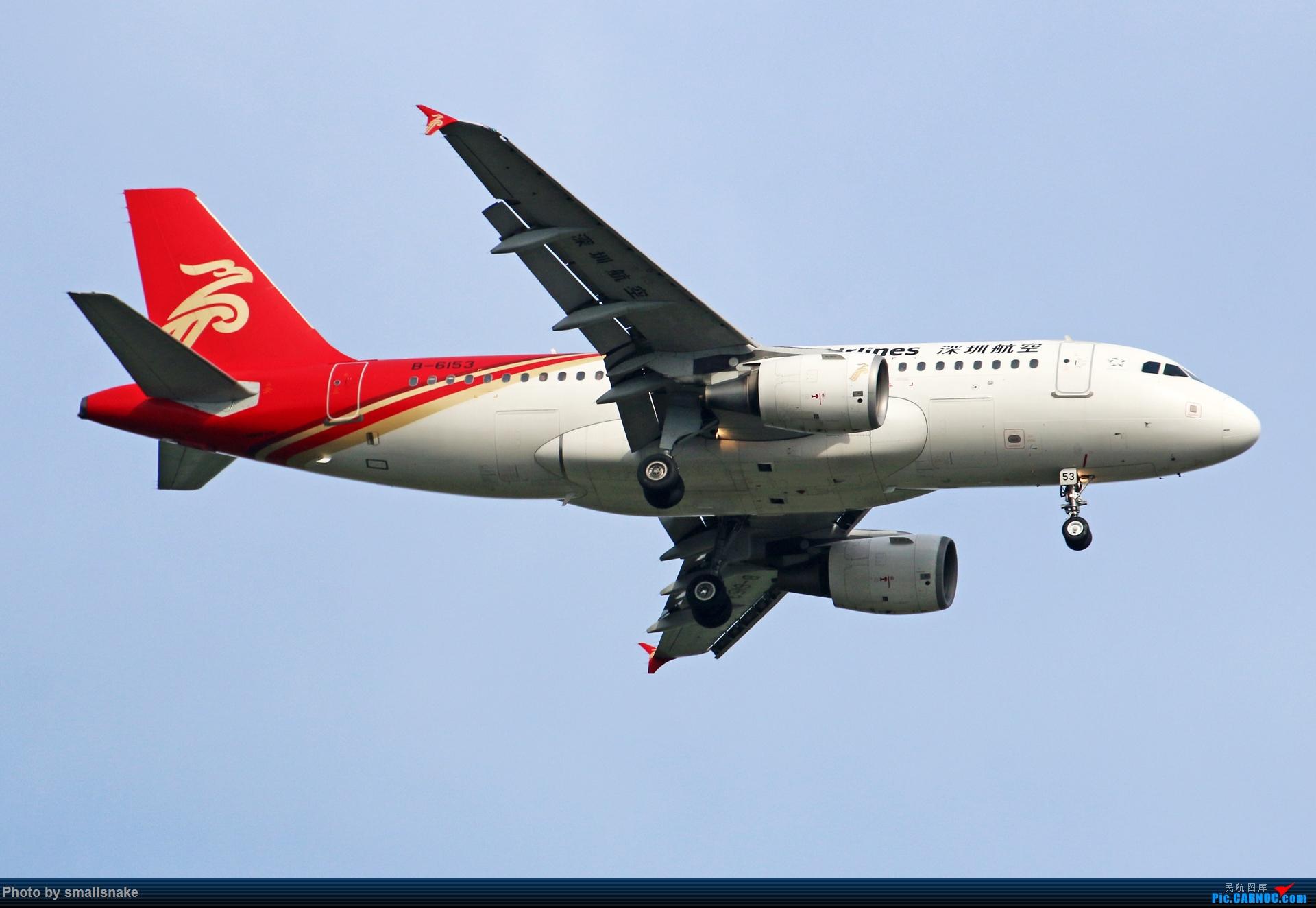 Re:[原创]近期NNG随摄...国航738MAX首航... AIRBUS A319-100 B-6153 中国南宁吴圩国际机场