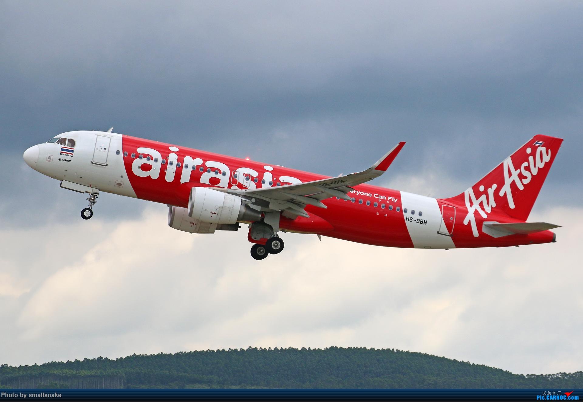 Re:[原创]近期NNG随摄...国航738MAX首航... AIRBUS A320-200 HS-BBM 南宁吴圩国际机场