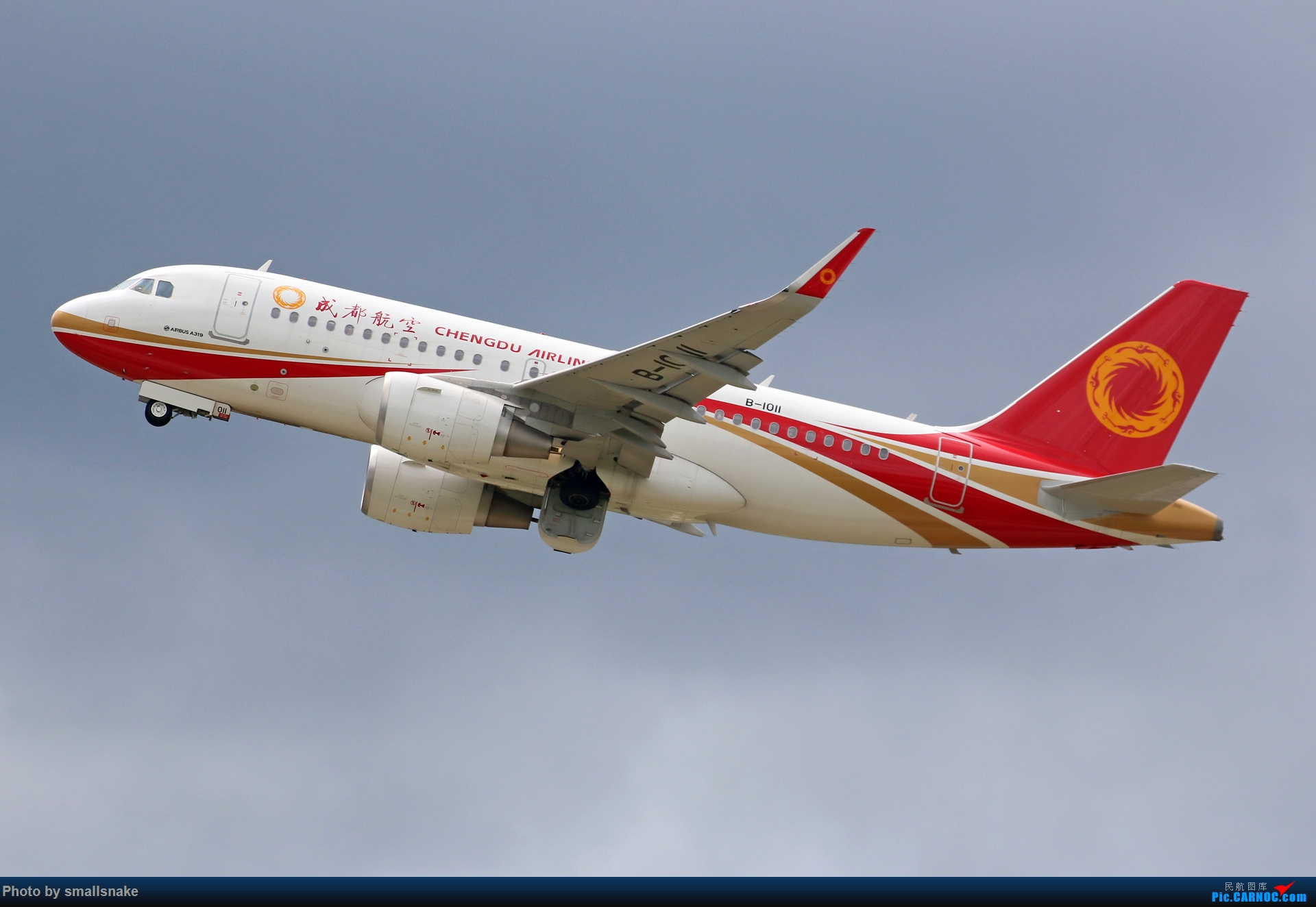 Re:[原创]近期NNG随摄...国航738MAX首航... AIRBUS A319-100 B-1011 中国南宁吴圩国际机场