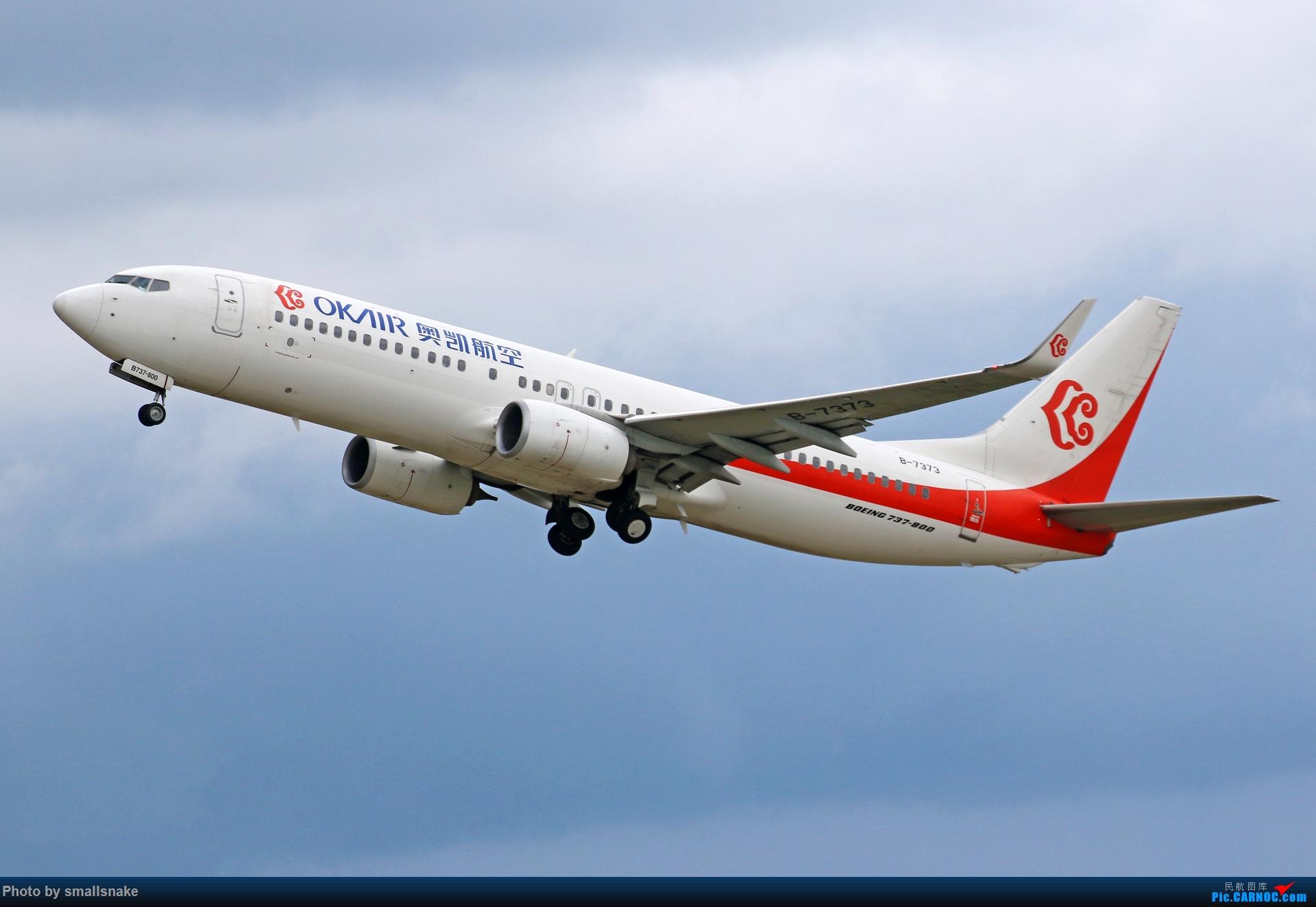 Re:[原创]近期NNG随摄...国航738MAX首航... BOEING 737-800 B-7373 中国南宁吴圩国际机场
