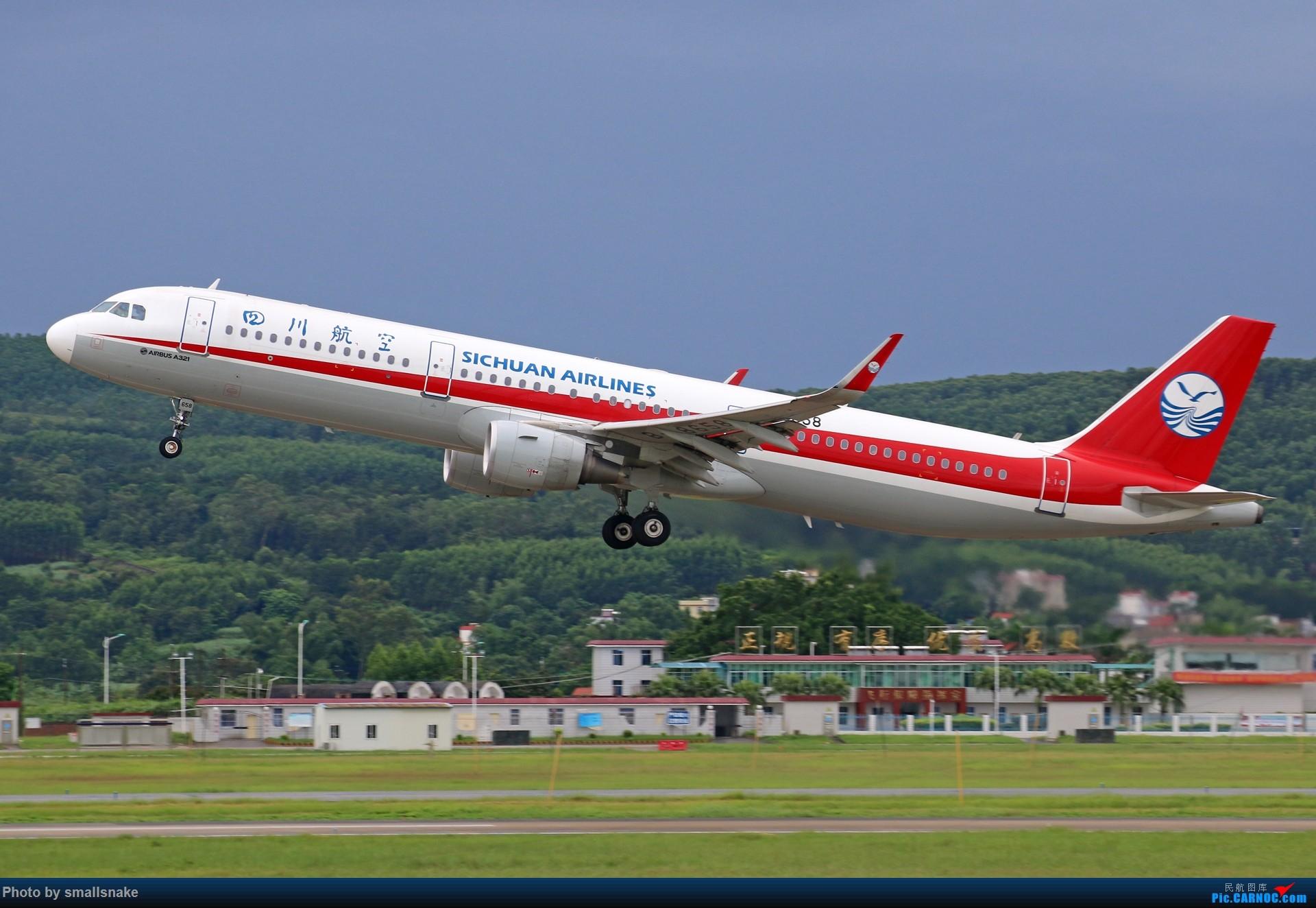 Re:[原创]近期NNG随摄...国航738MAX首航... AIRBUS A321-200 B-8658 南宁吴圩国际机场