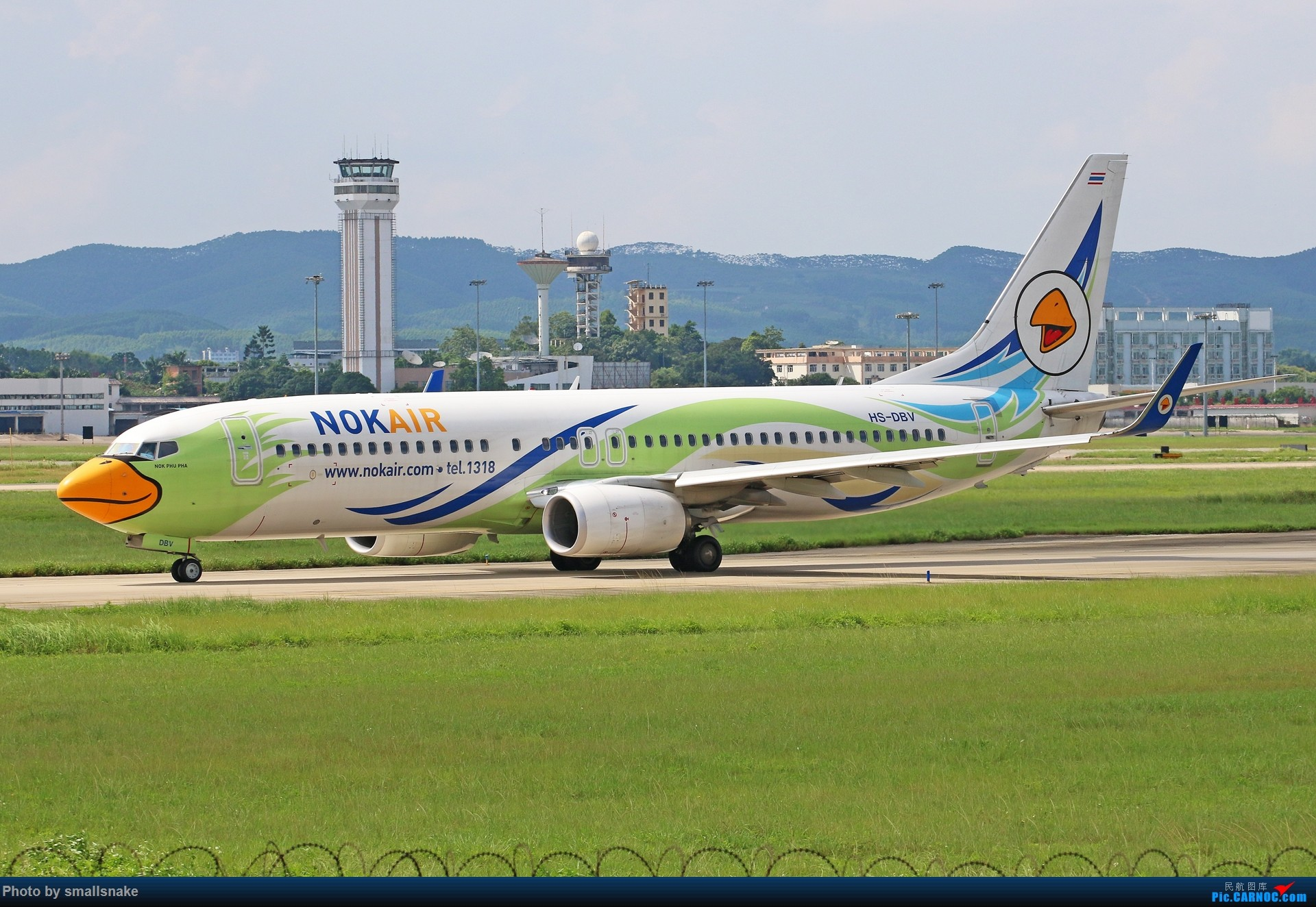 Re:[原创]近期NNG随摄...国航738MAX首航... BOEING 737-800 HS-DBV 南宁吴圩国际机场