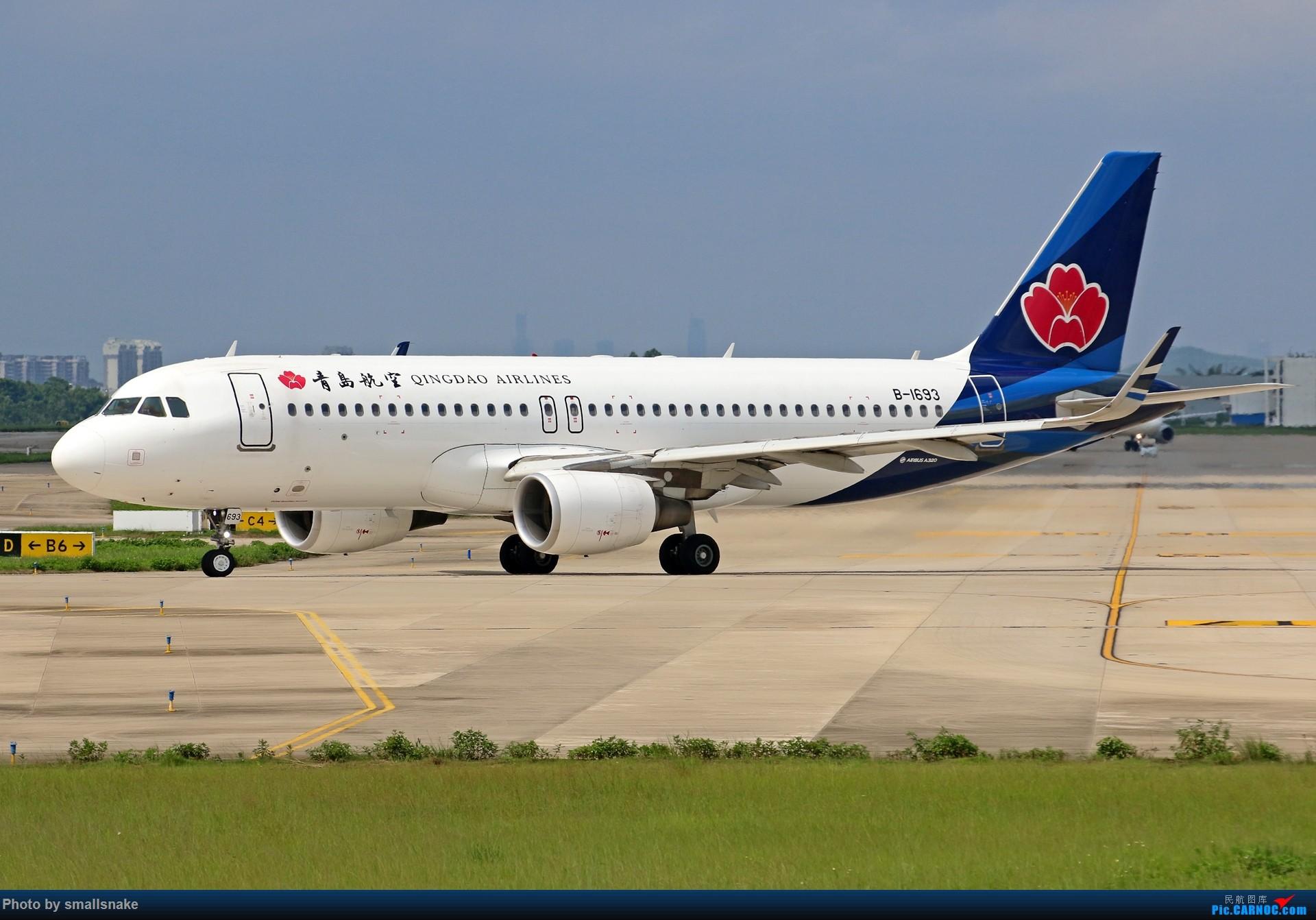 Re:[原创]近期NNG随摄...国航738MAX首航... AIRBUS A320-200 B-1693 中国南宁吴圩国际机场