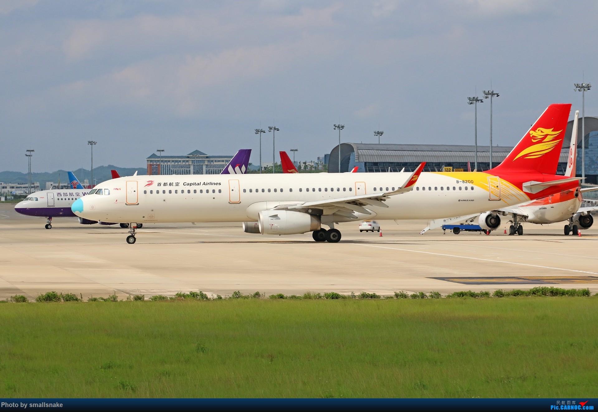 Re:[原创]近期NNG随摄...国航738MAX首航... AIRBUS A321-200 B-8200 中国南宁吴圩国际机场