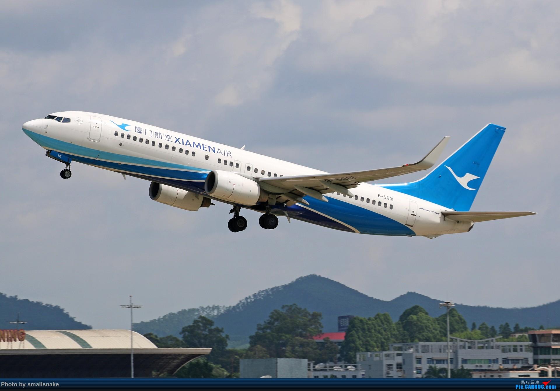 Re:[原创]近期NNG随摄...国航738MAX首航... BOEING 737-800 B-5601 中国南宁吴圩国际机场