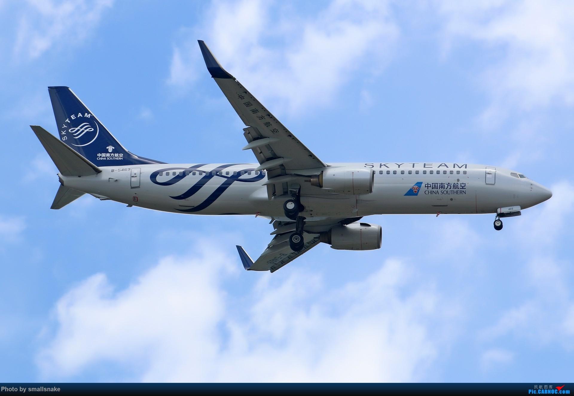 Re:[原创]近期NNG随摄...国航738MAX首航... BOEING 737-800 B-5469 中国南宁吴圩国际机场