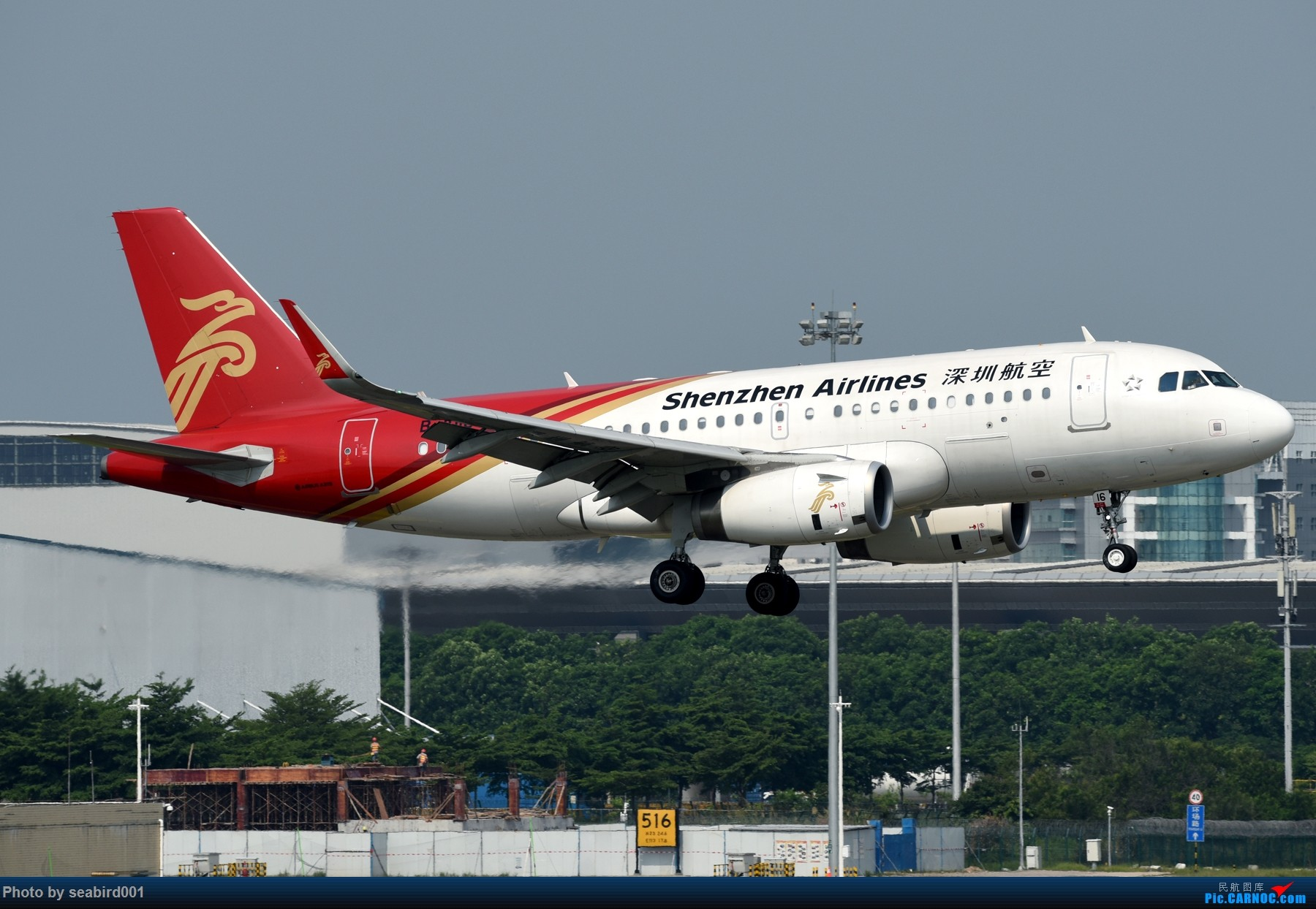 [原创]广州白云拍飞机。 AIRBUS A319-100 B-1016 中国广州白云国际机场