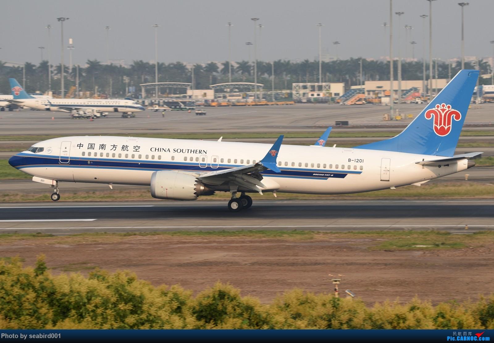 Re:[原创]广州白云拍飞机。 BOEING 737MAX-8 B-1201 中国广州白云国际机场